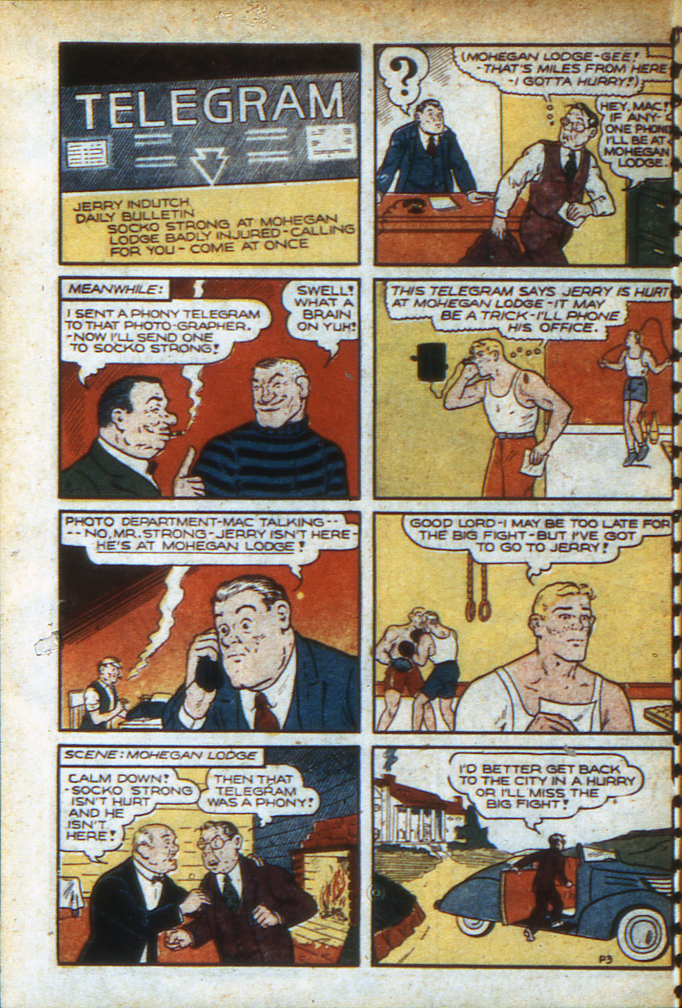 Read online Adventure Comics (1938) comic -  Issue #46 - 31