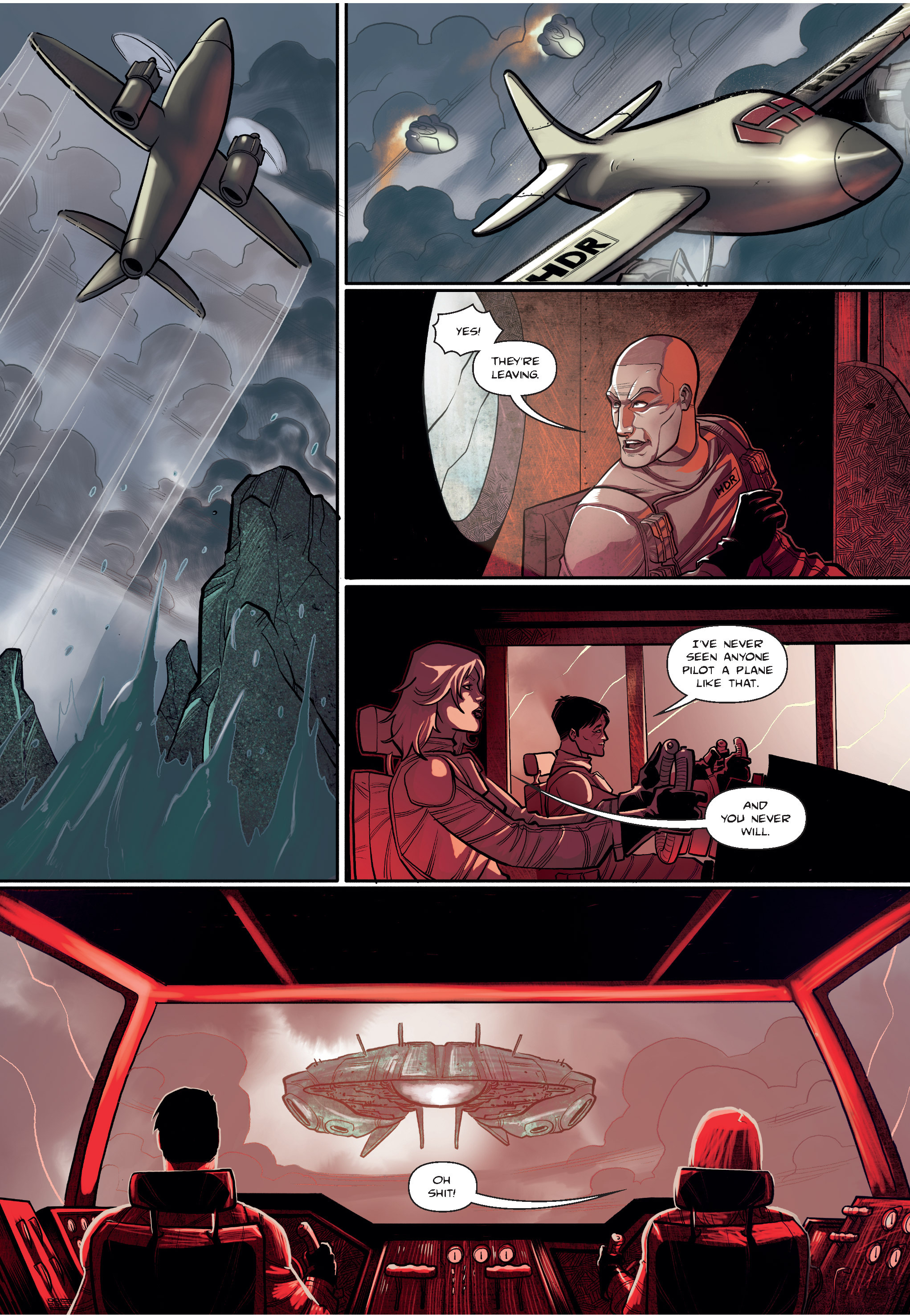Read online The Shadow of a Terrible Thing comic -  Issue # TPB - 44