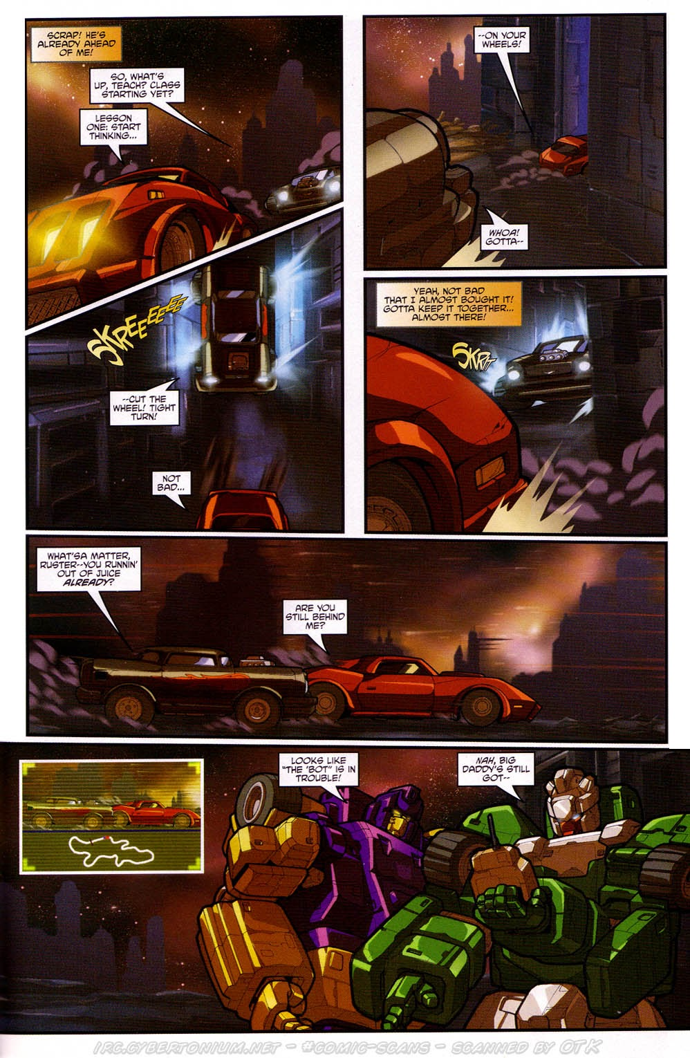 Read online Transformers: Micromasters comic -  Issue #2 - 19