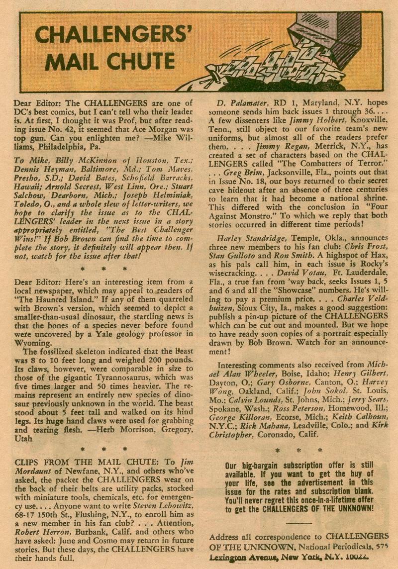 Challengers of the Unknown (1958) issue 45 - Page 22