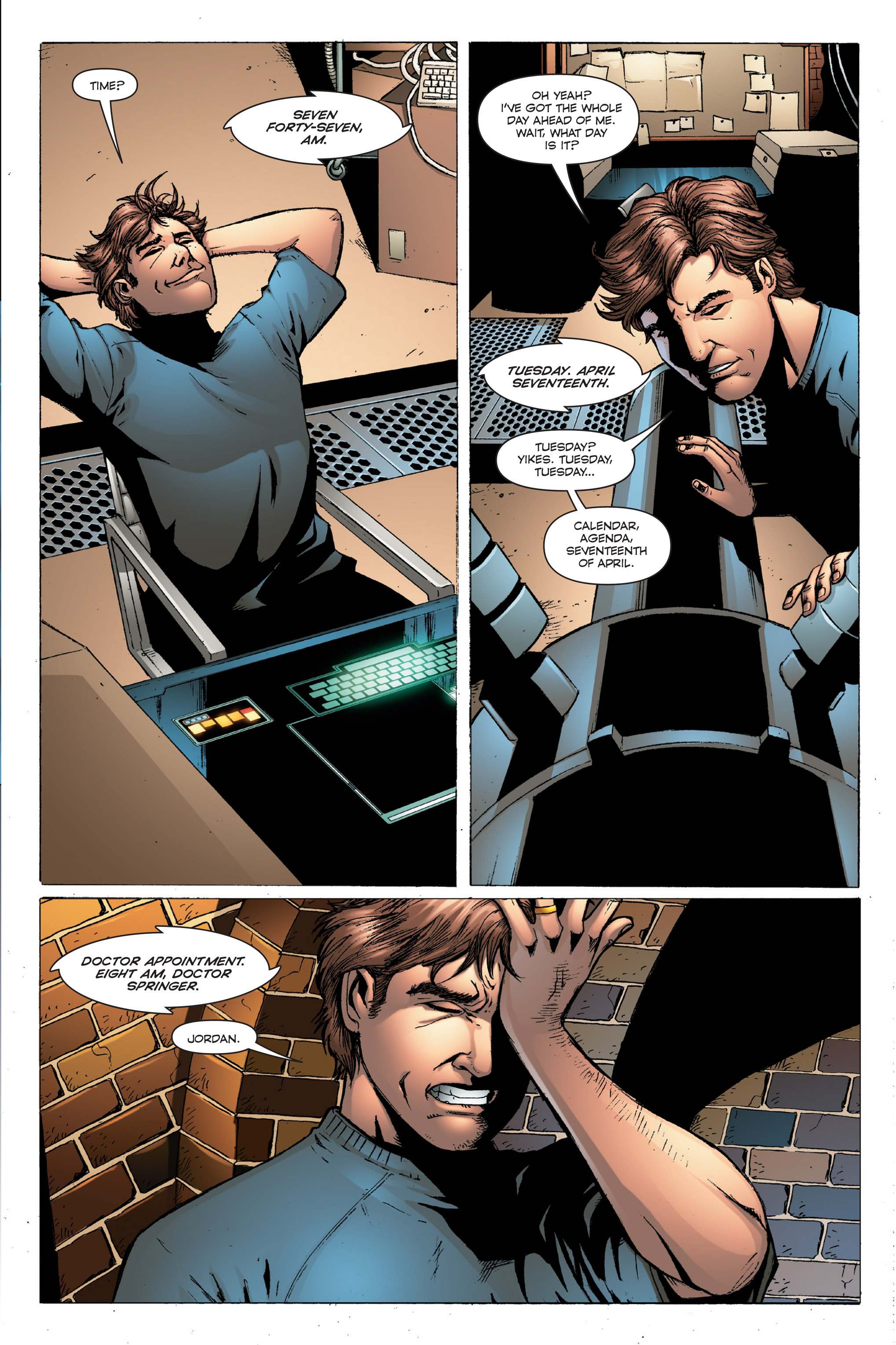 Read online TRON: Betrayal comic -  Issue # TPB - 21