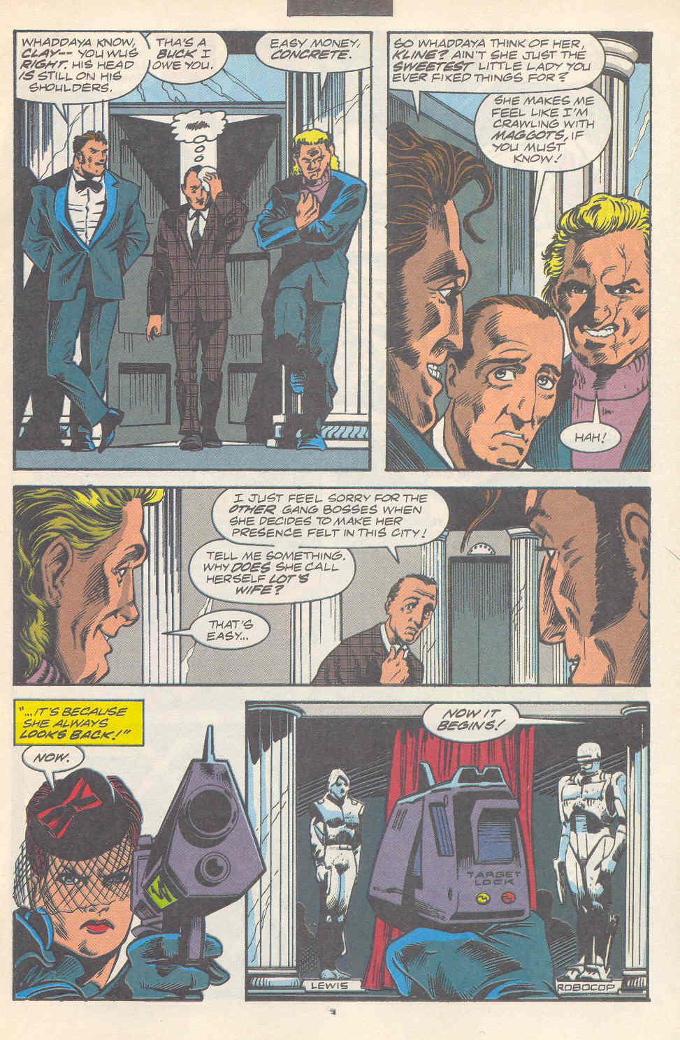 Read online Robocop (1990) comic -  Issue #17 - 4
