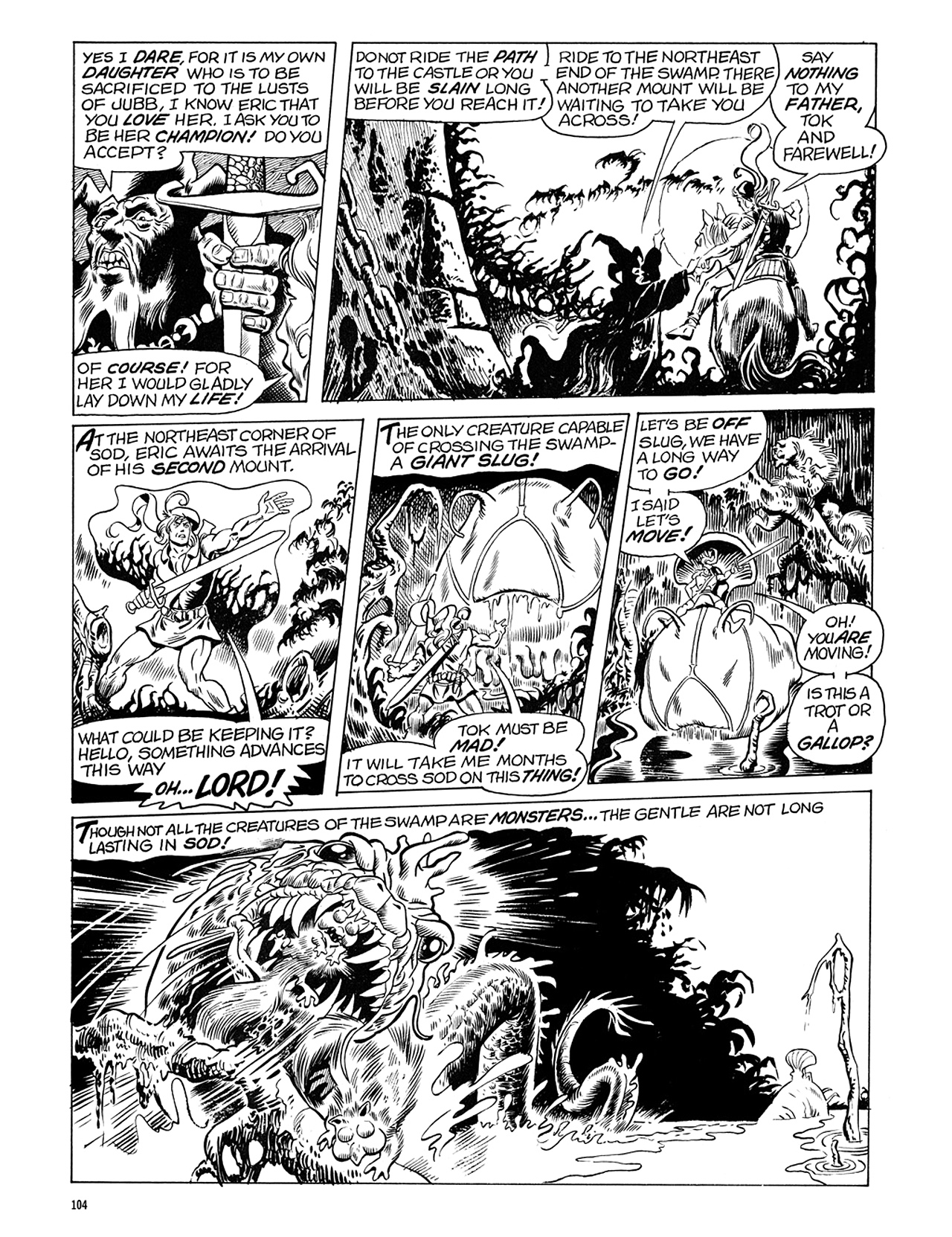 Read online Eerie Archives comic -  Issue # TPB 6 - 104