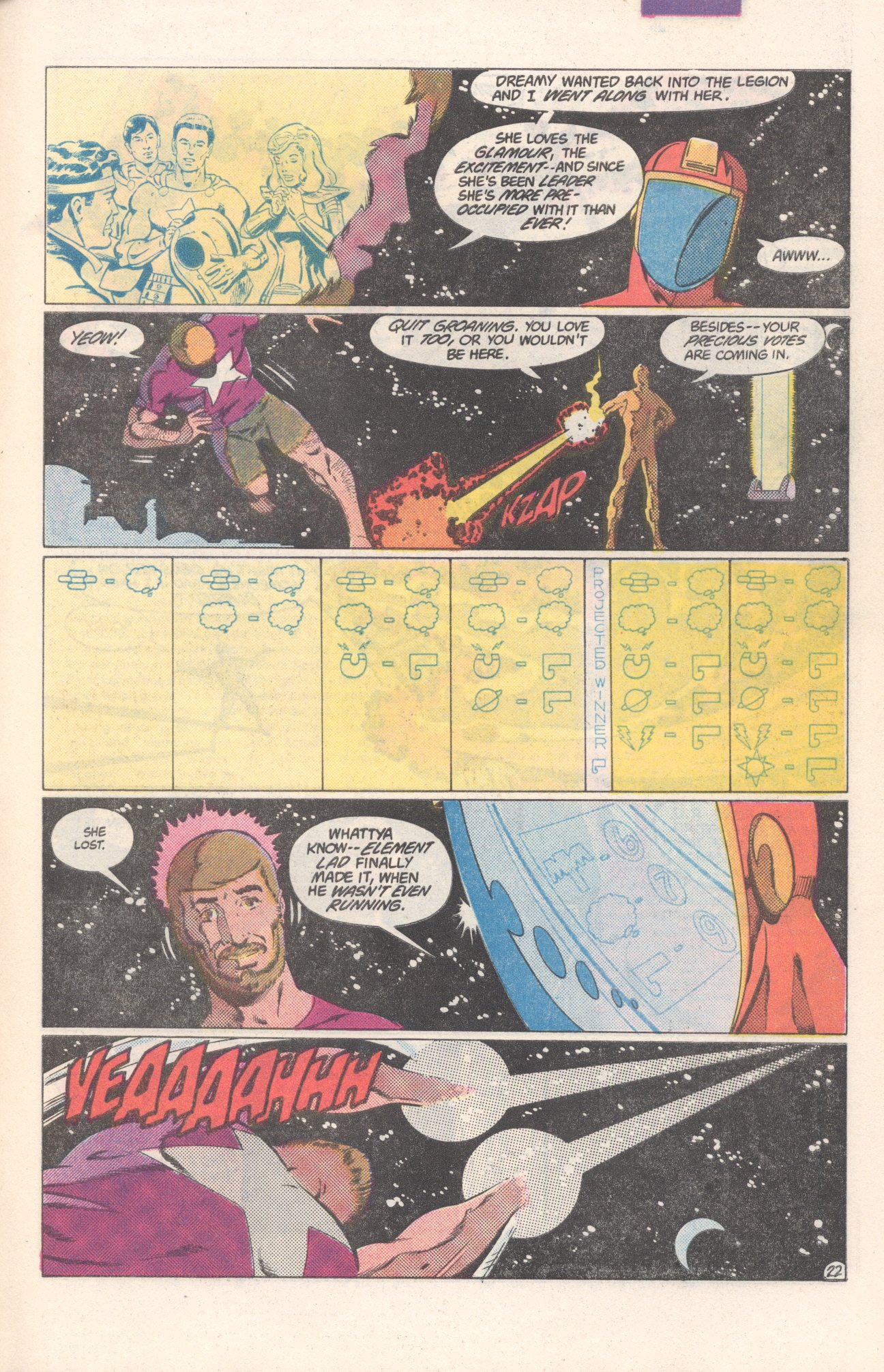 Legion of Super-Heroes (1980) 306 Page 22