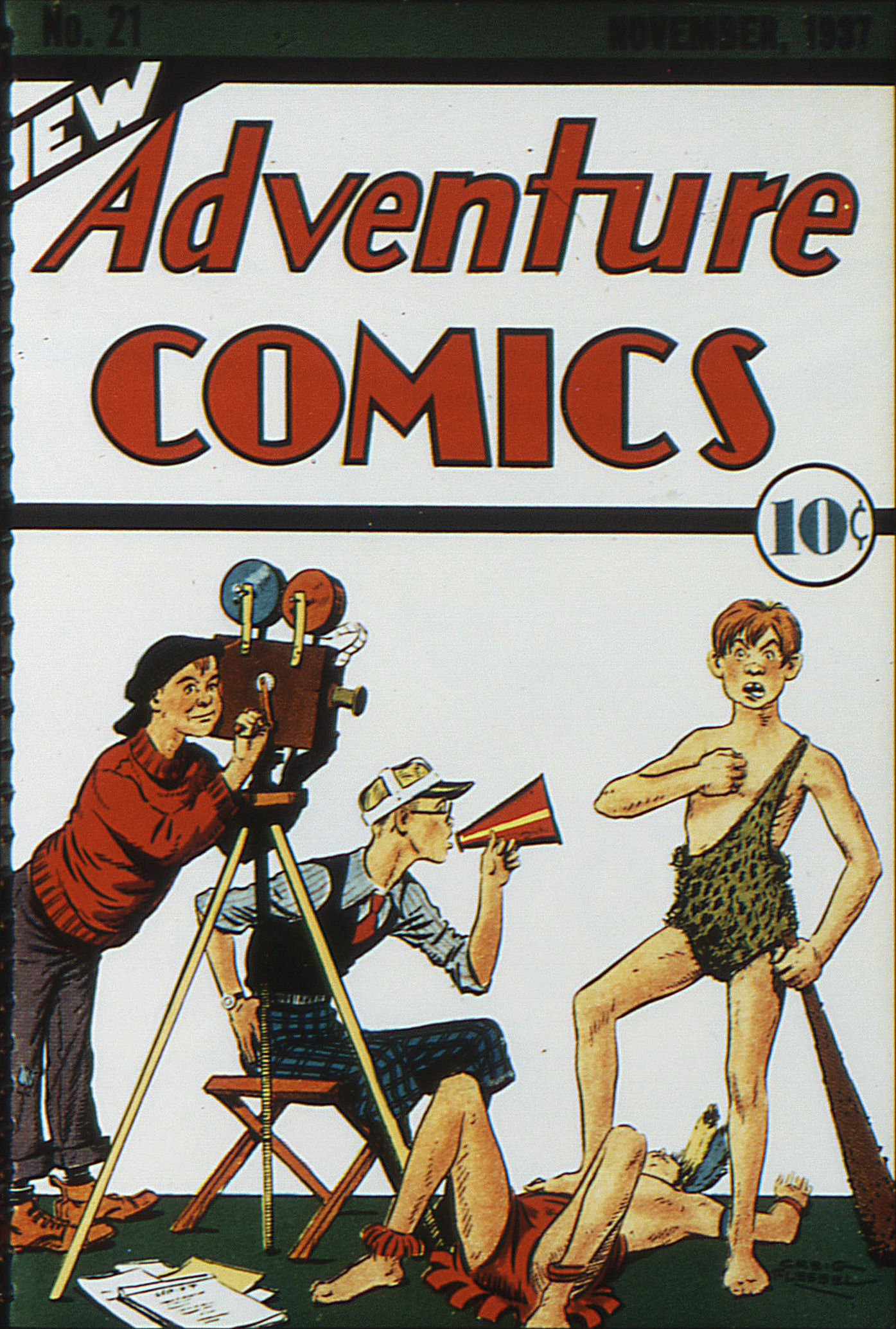 Read online Adventure Comics (1938) comic -  Issue #21 - 1