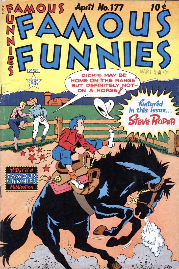 Read online Famous Funnies comic -  Issue #177 - 1