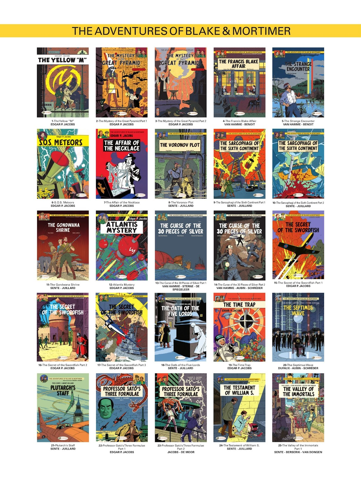 Read online Blake & Mortimer comic -  Issue #25 - 59