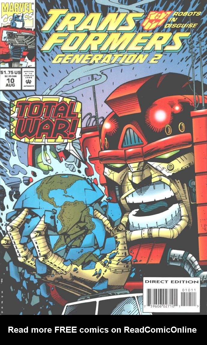 Read online Transformers: Generation 2 comic -  Issue #10 - 1