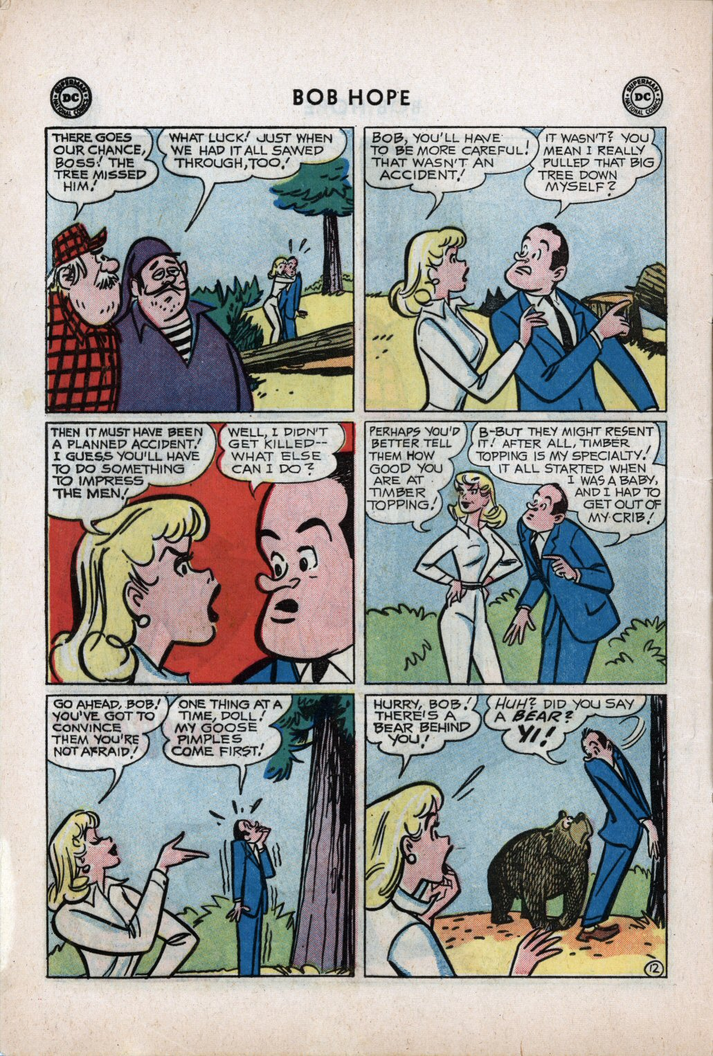 The Adventures of Bob Hope issue 59 - Page 16