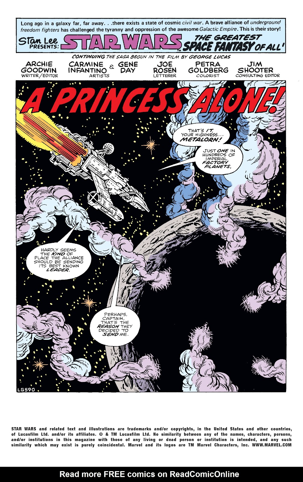 Read online Star Wars Legends: The Original Marvel Years - Epic Collection comic -  Issue # TPB 2 (Part 2) - 15