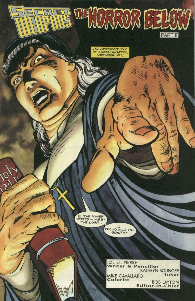 Read online Secret Weapons comic -  Issue #7 - 2