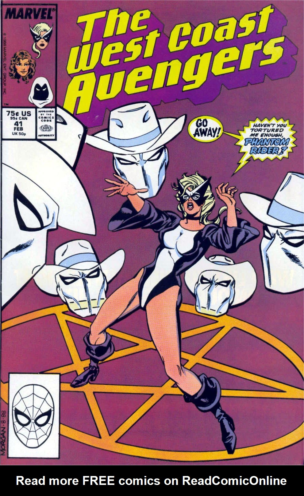 West Coast Avengers (1985) 41 Page 1