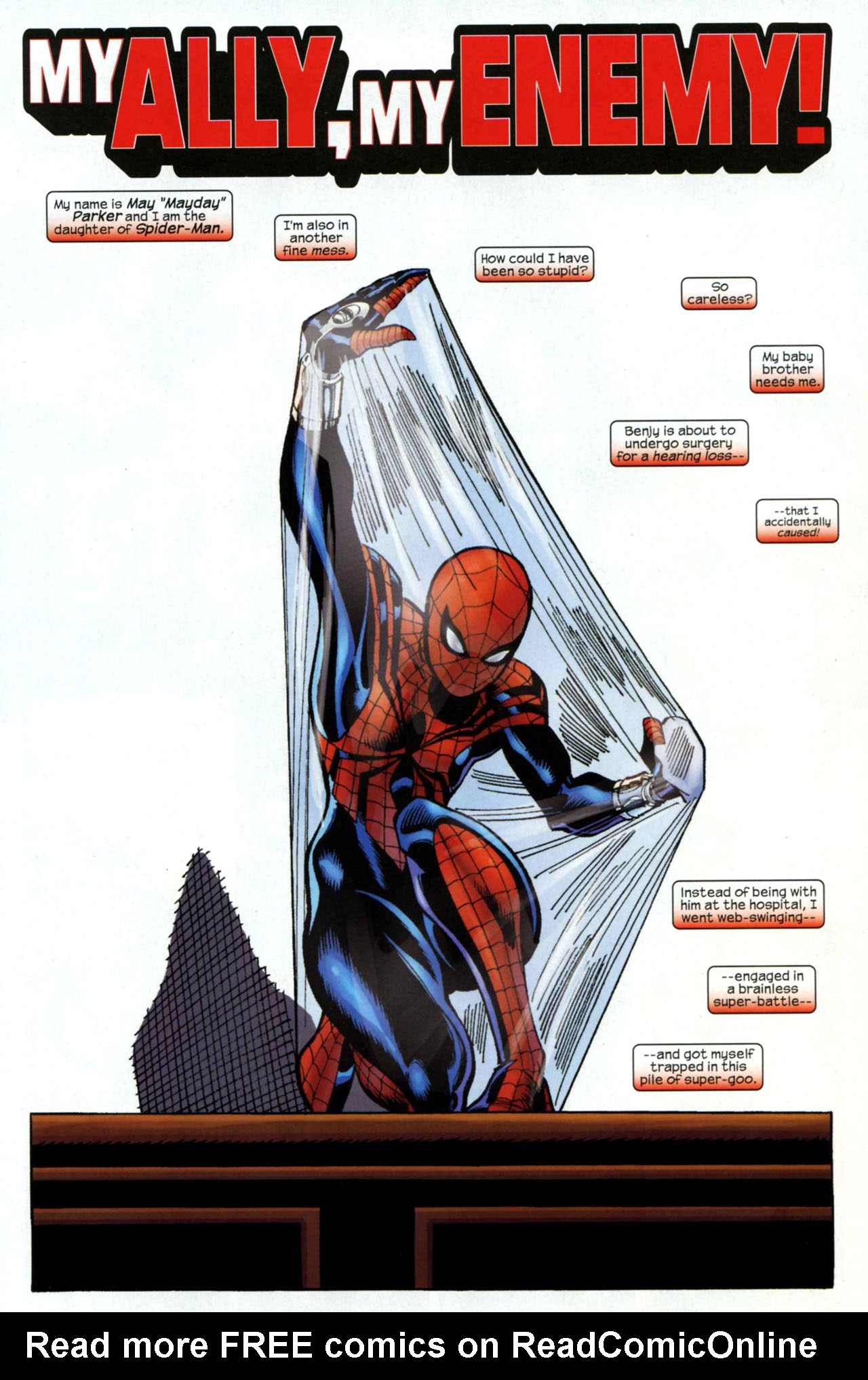 Read online Amazing Spider-Girl comic -  Issue #18 - 2