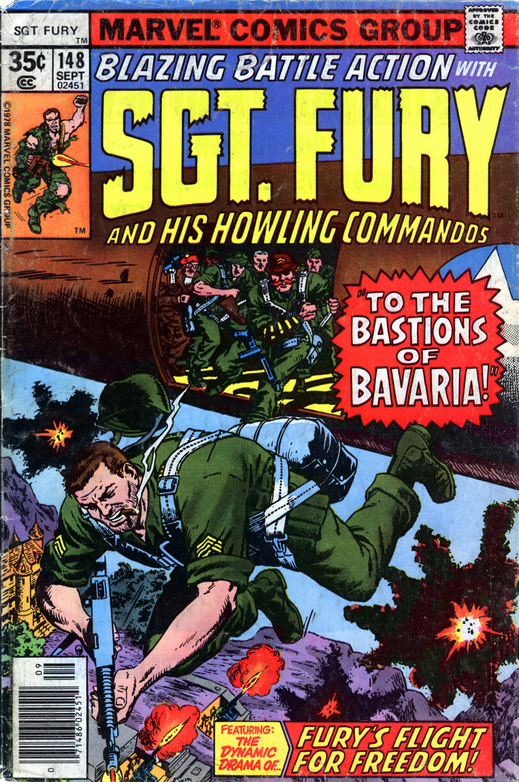 Sgt. Fury 148 Page 1