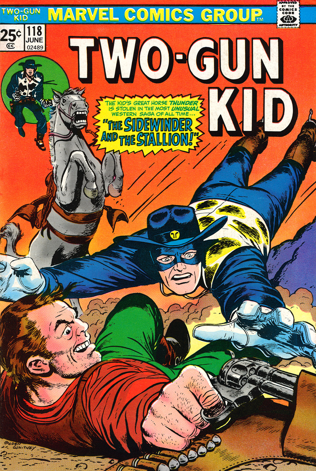 Read online Two-Gun Kid comic -  Issue #118 - 1