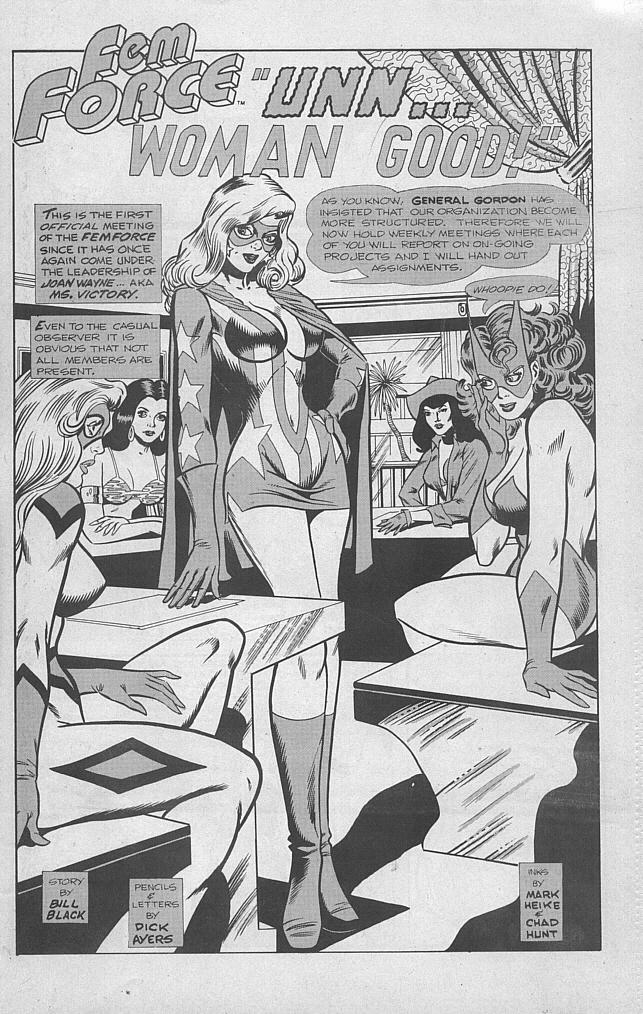 Femforce Issue #53 #53 - English 3