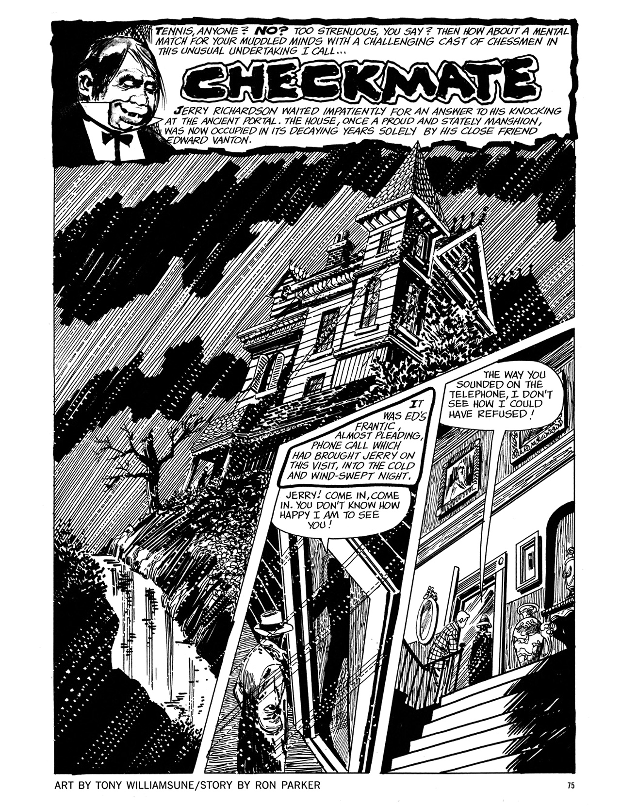 Read online Eerie Archives comic -  Issue # TPB 5 - 76