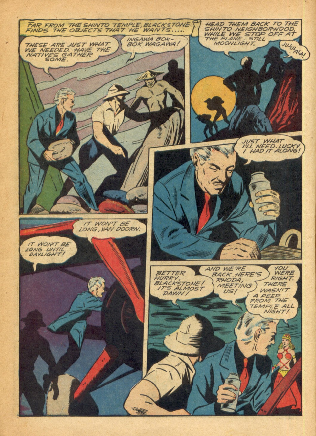 Read online Super-Magician Comics comic -  Issue #6 - 18