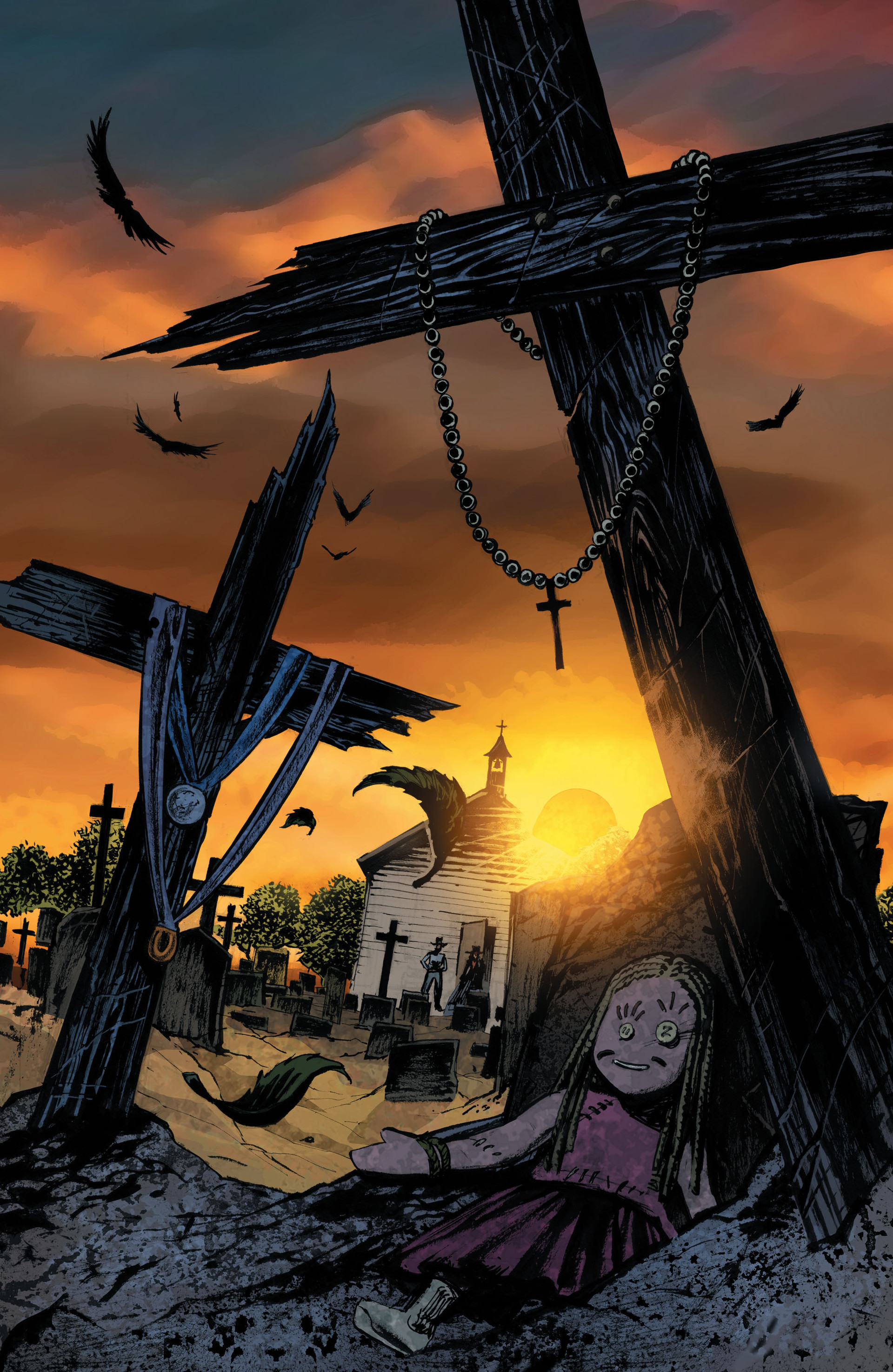 Read online All-Star Western (2011) comic -  Issue #33 - 21