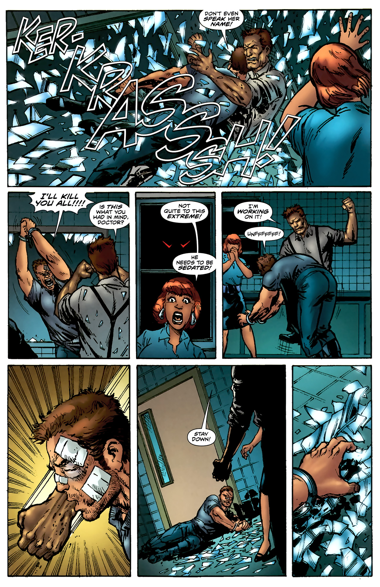 Read online ShadowHawk (2010) comic -  Issue #4 - 12