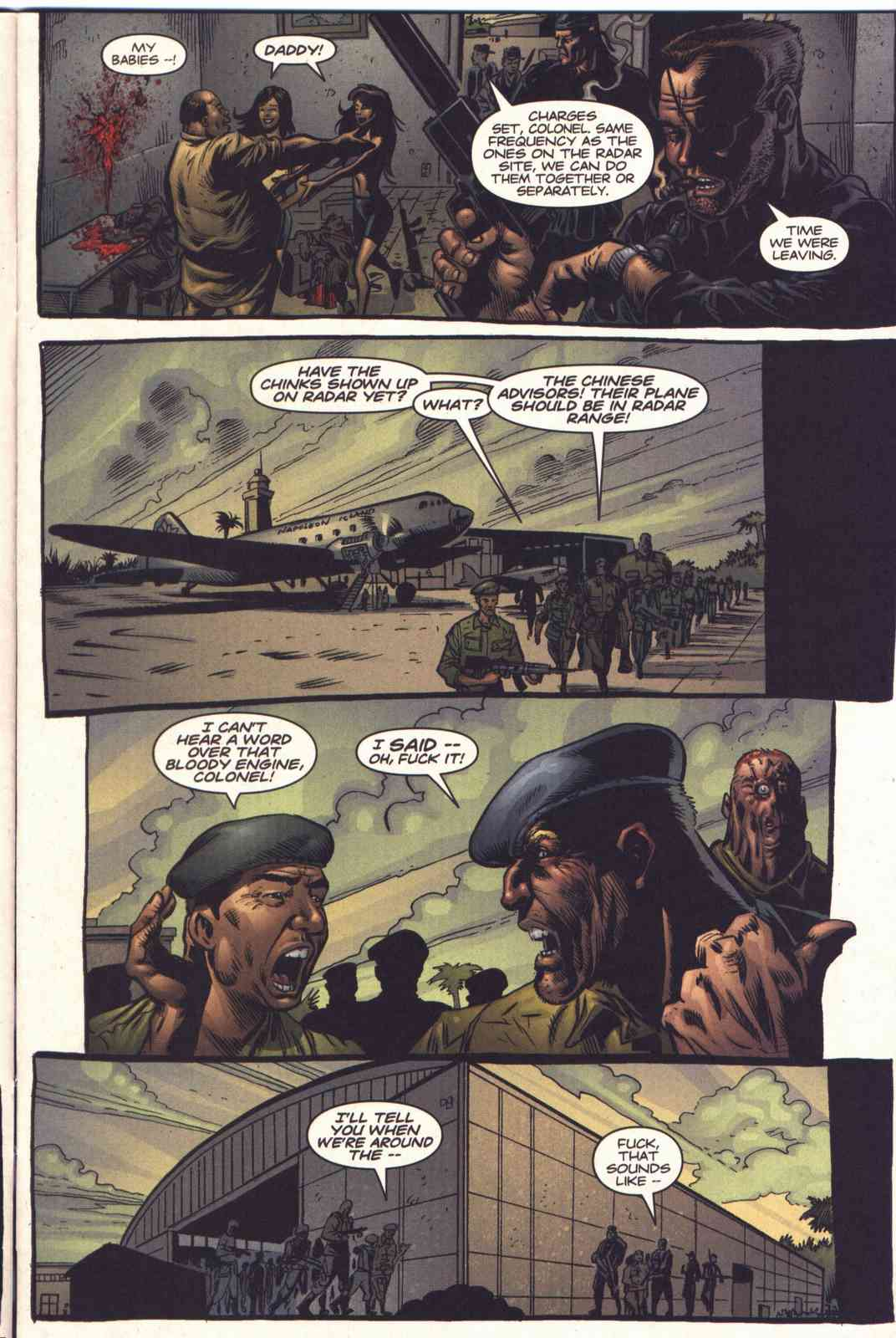 Read online Fury comic -  Issue #5 - 6