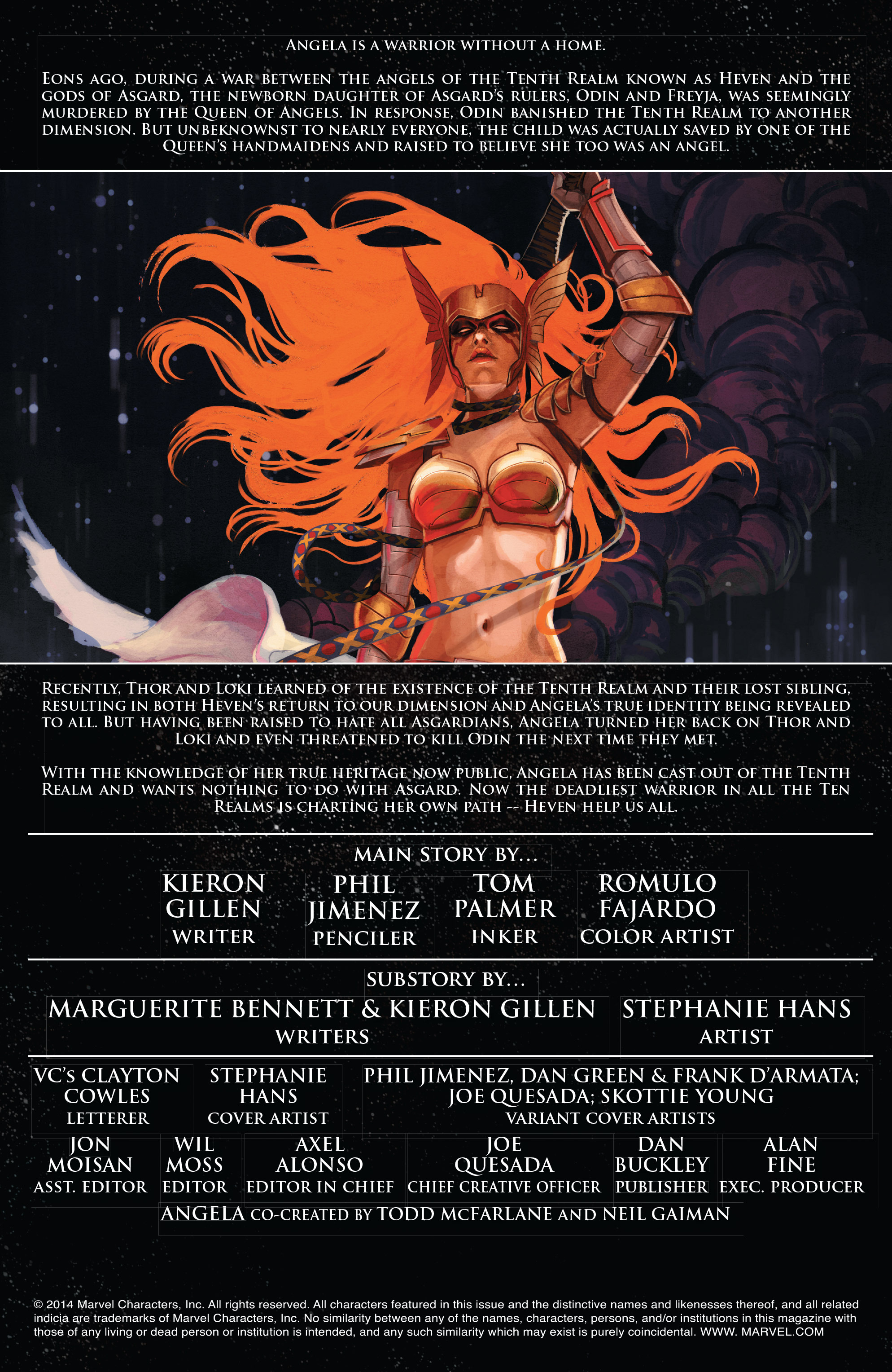Read online Angela: Asgard's Assassin comic -  Issue #1 - 2