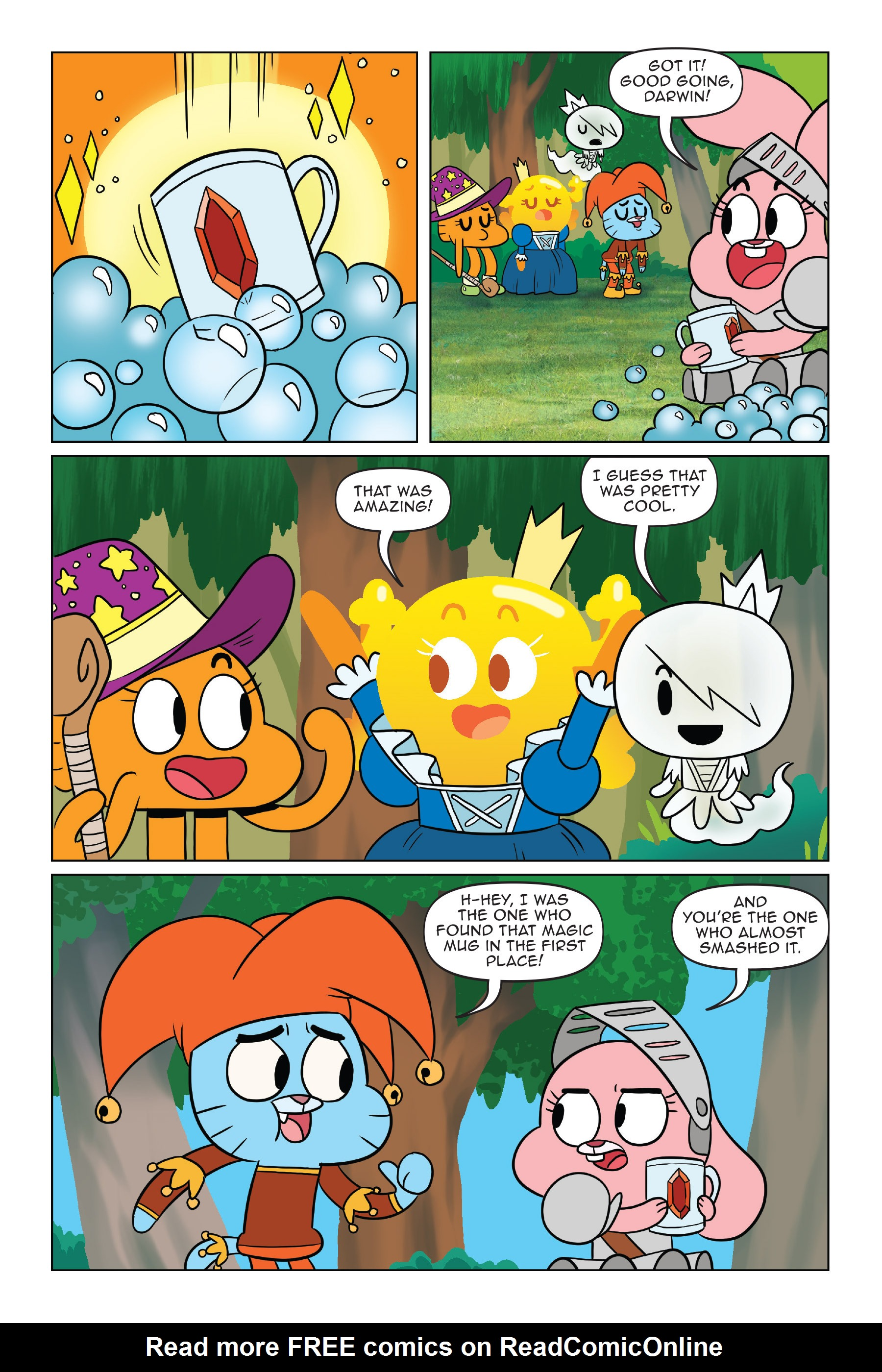 Read online The Amazing World of Gumball: Fairy Tale Trouble comic -  Issue # Full - 81