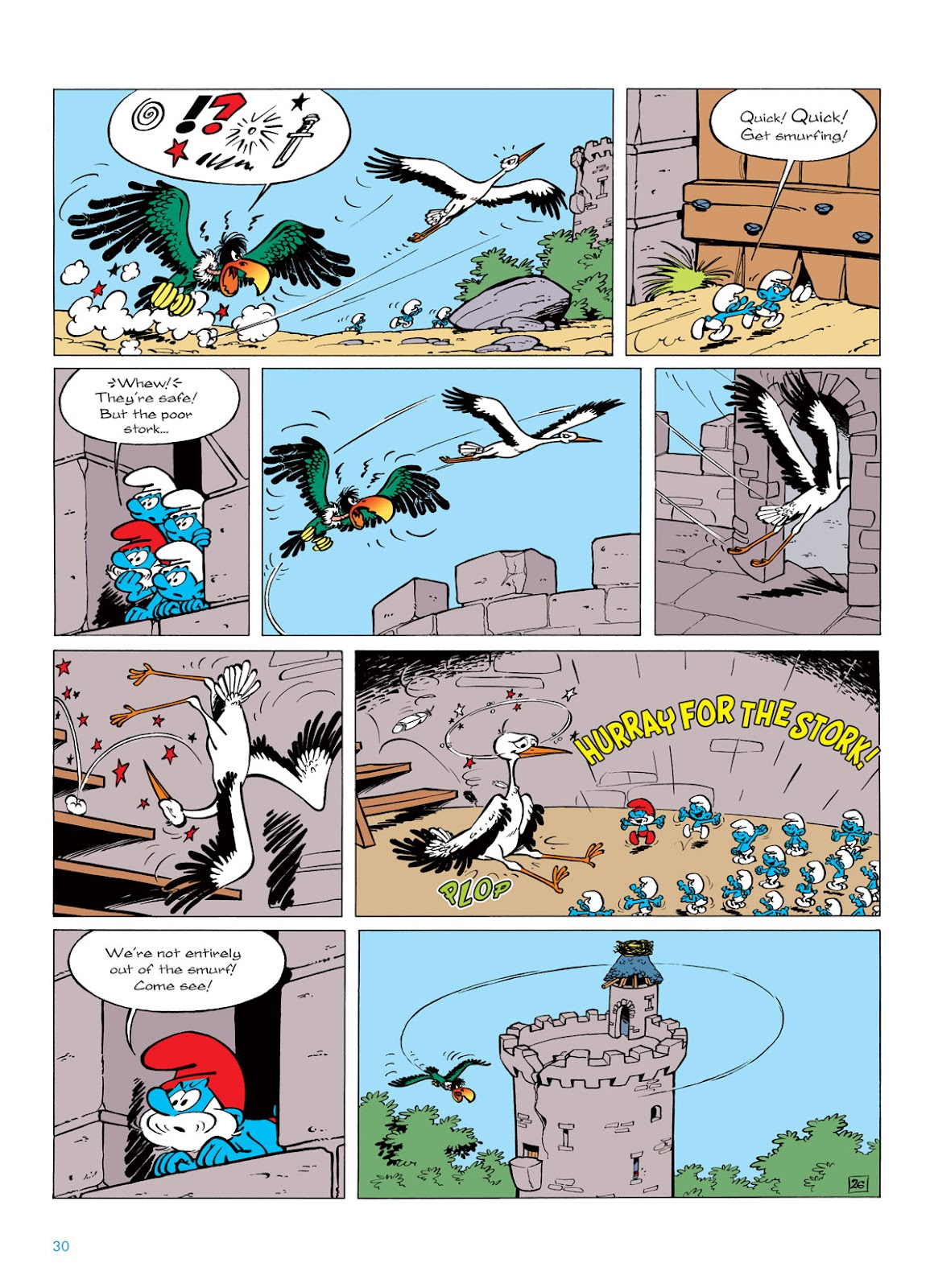 Read online The Smurfs comic -  Issue #6 - 30