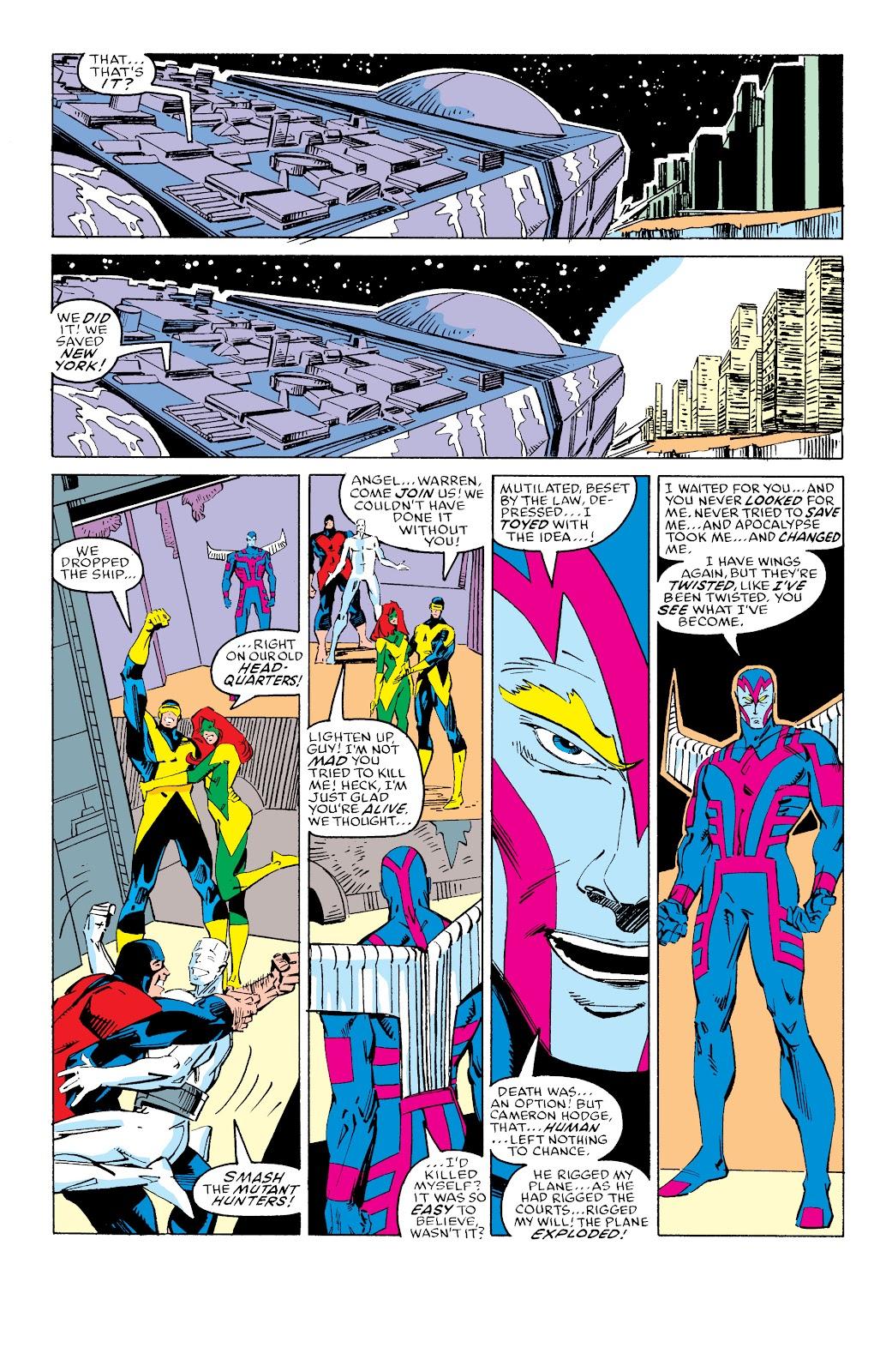 Read online X-Men Milestones: Fall of the Mutants comic -  Issue # TPB (Part 3) - 41