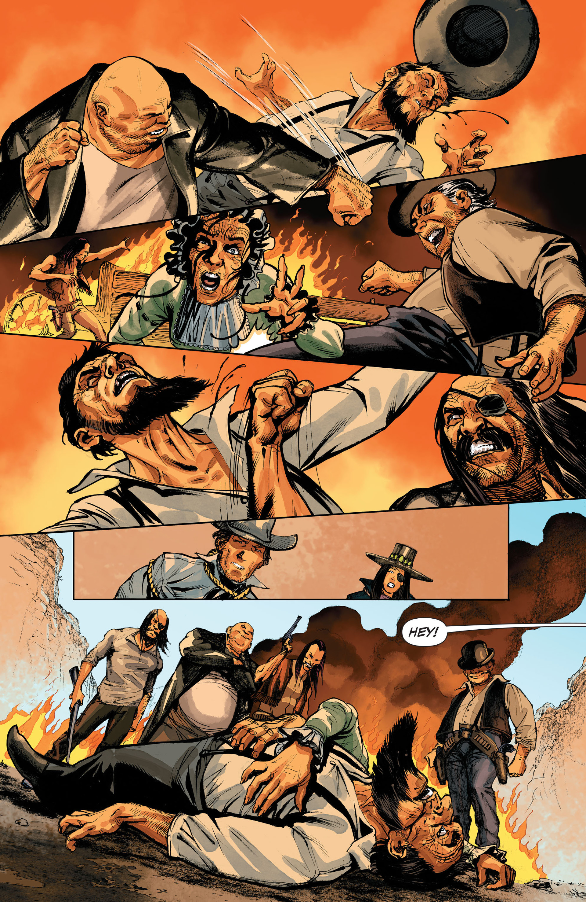 Read online All-Star Western (2011) comic -  Issue #32 - 21