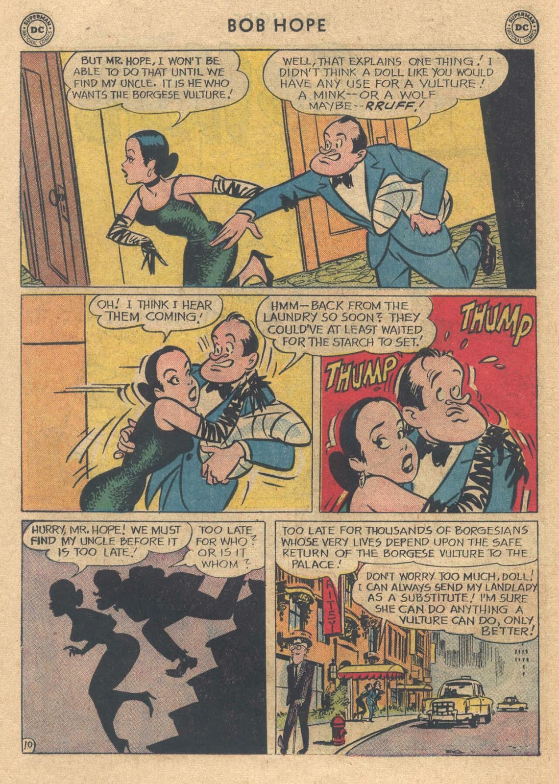 The Adventures of Bob Hope issue 76 - Page 14
