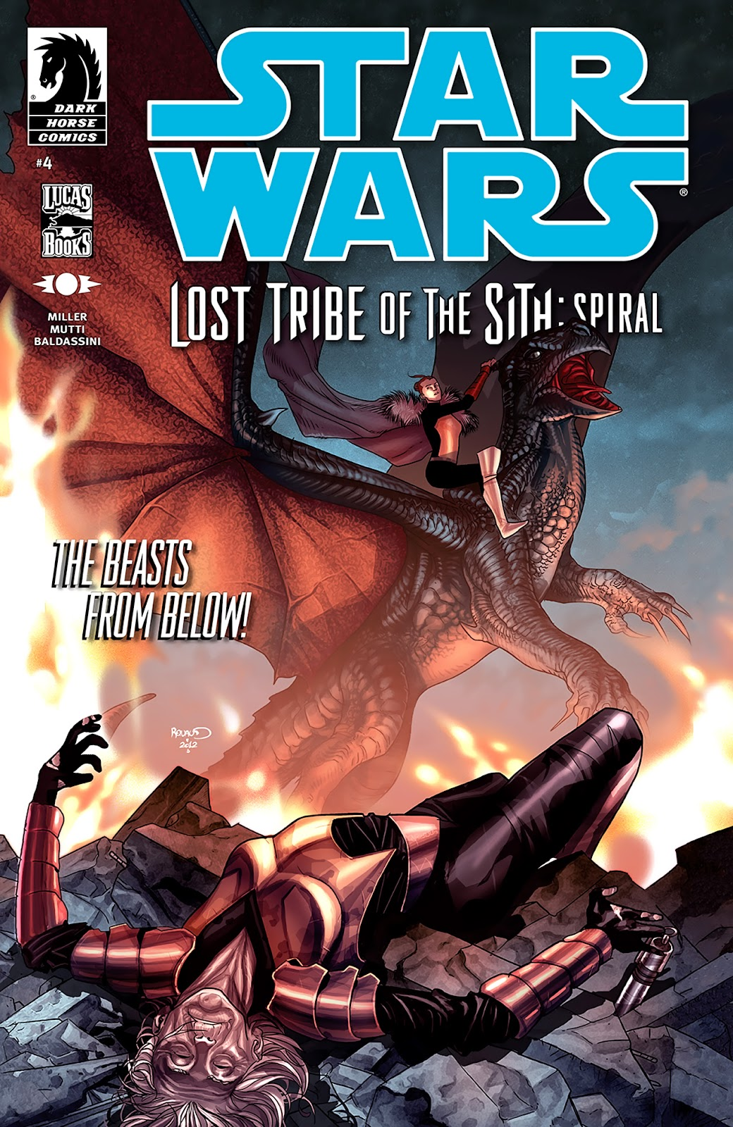 Star Wars: Lost Tribe of the Sith - Spiral 4 Page 1