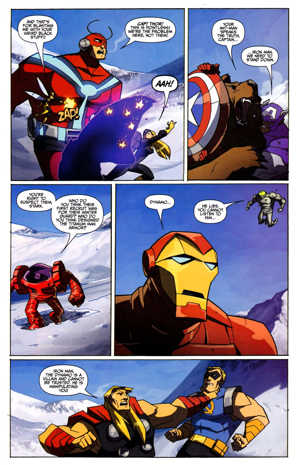 Avengers: Earth's Mightiest Heroes (2011) Issue #2 #2 - English 10