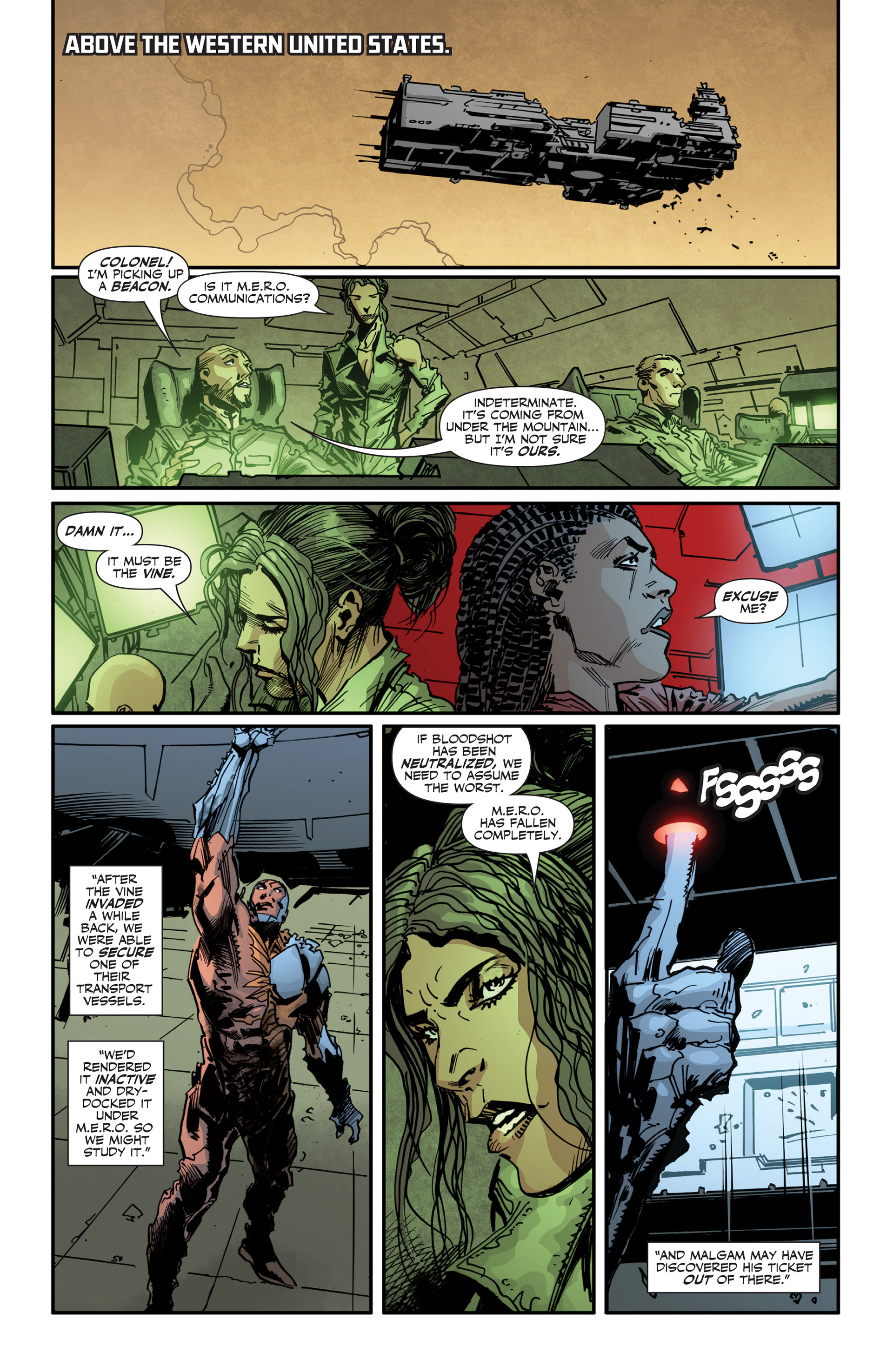 Read online Armor Hunters: Bloodshot comic -  Issue #3 - 17