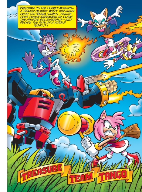 Read online Sonic Comics Spectacular: Speed of Sound comic -  Issue # Full - 192