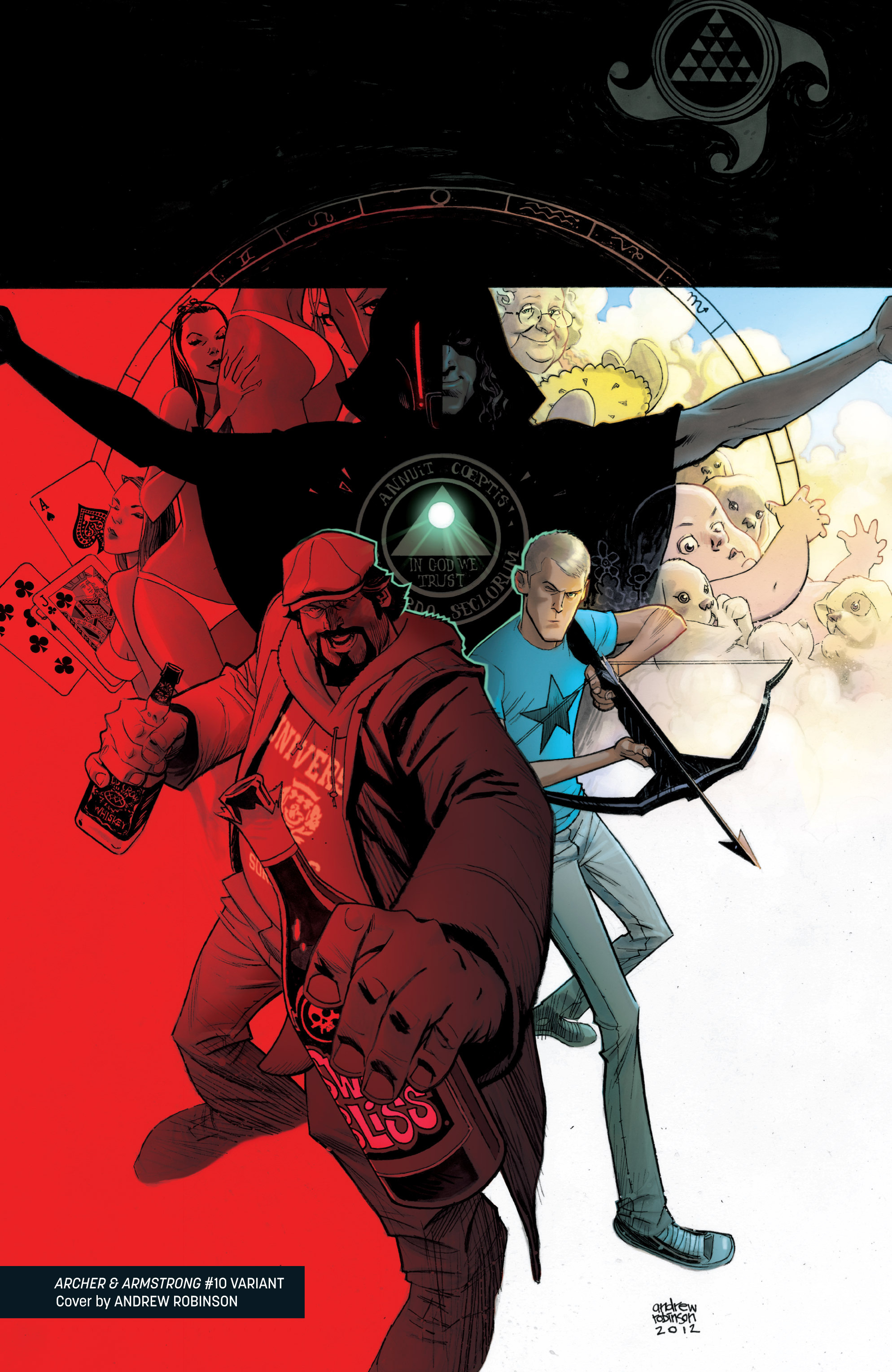 Read online Archer and Armstrong comic -  Issue #Archer and Armstrong _TPB 3 - 126
