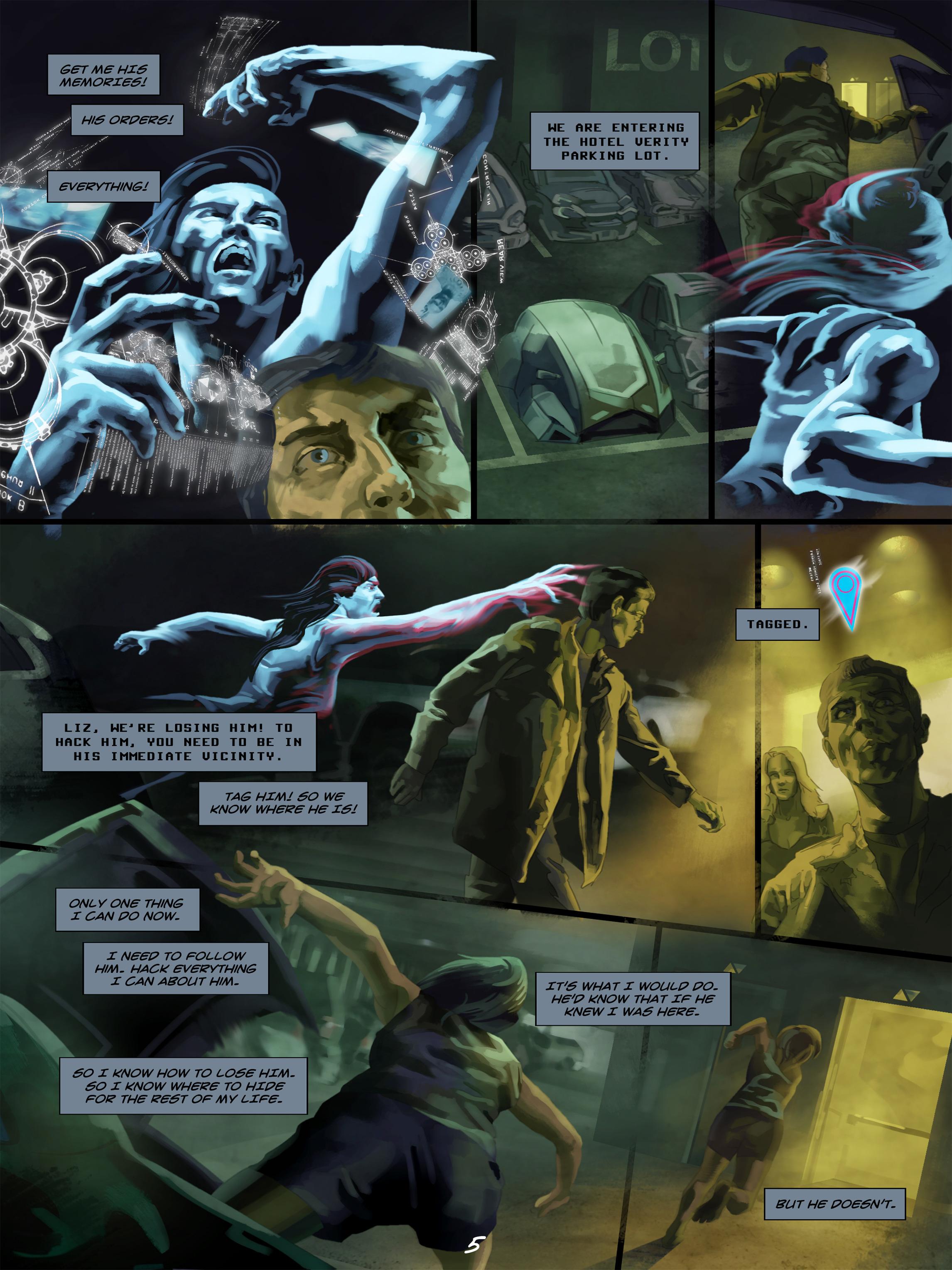 Read online Wynter comic -  Issue #5 - 6