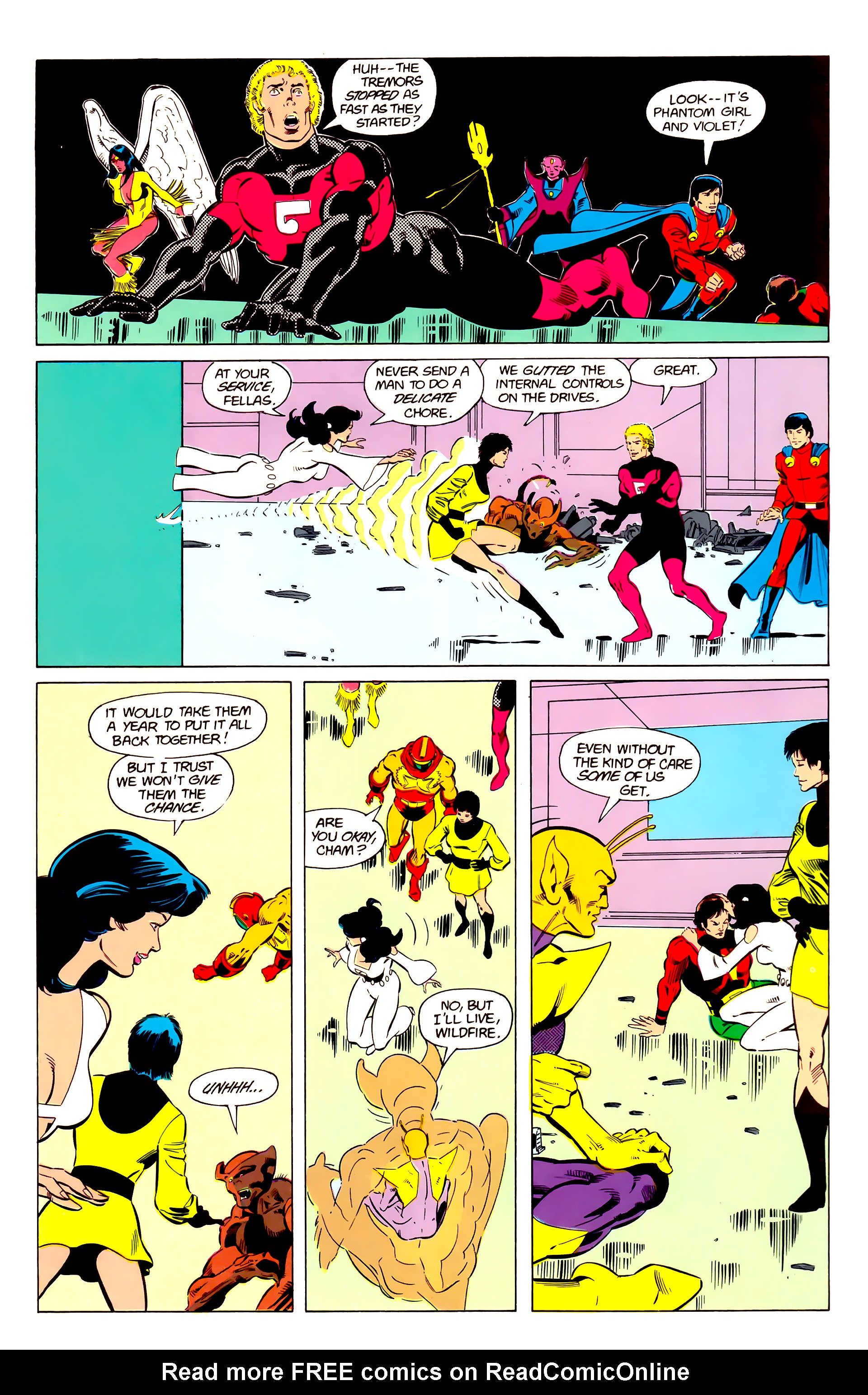 Legion of Super-Heroes (1984) 20 Page 21