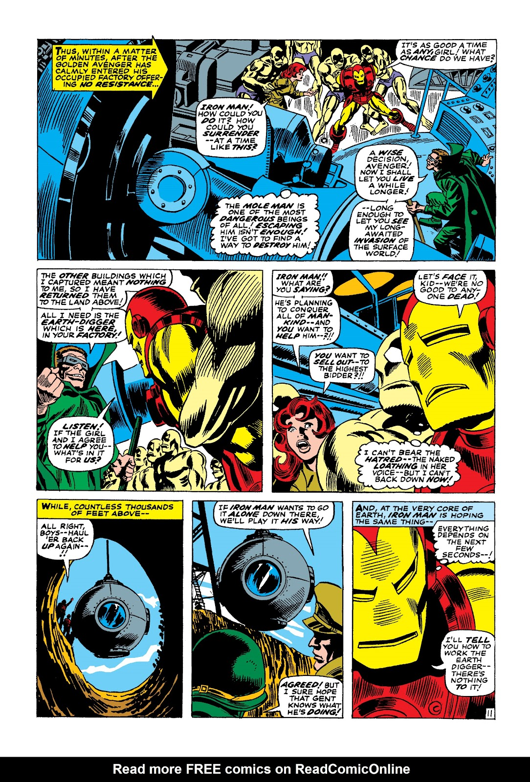 Read online Marvel Masterworks: The Invincible Iron Man comic -  Issue # TPB 4 (Part 1) - 69