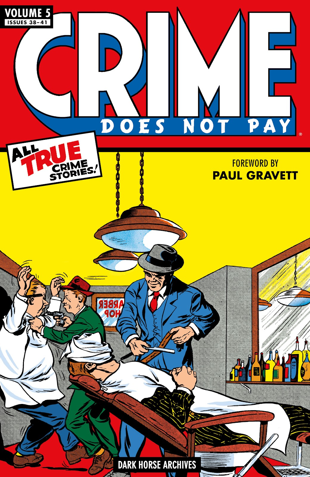 Read online Crime Does Not Pay Archives comic -  Issue # TPB 5 (Part 1) - 1