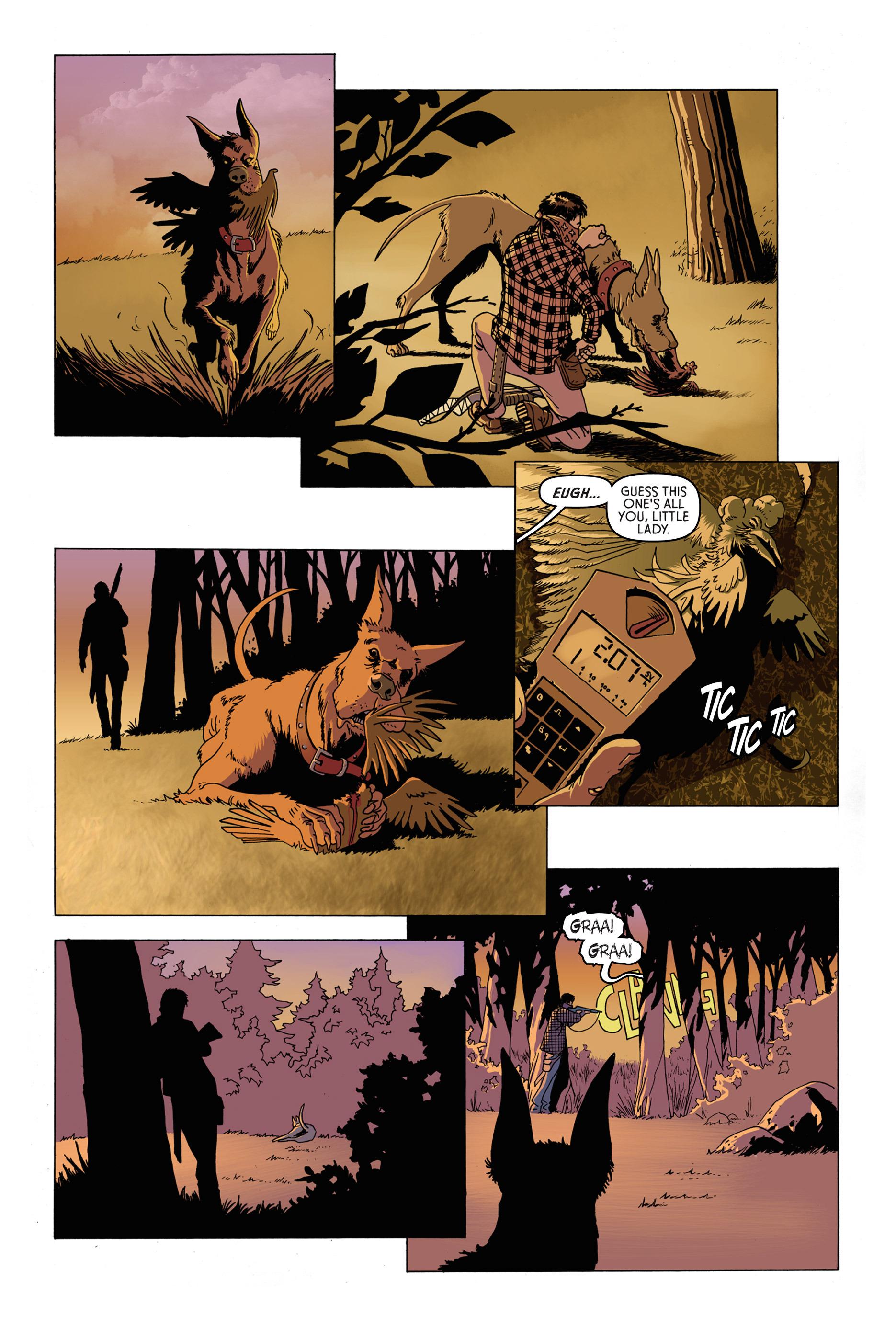 Read online Trespasser comic -  Issue #1 - 6