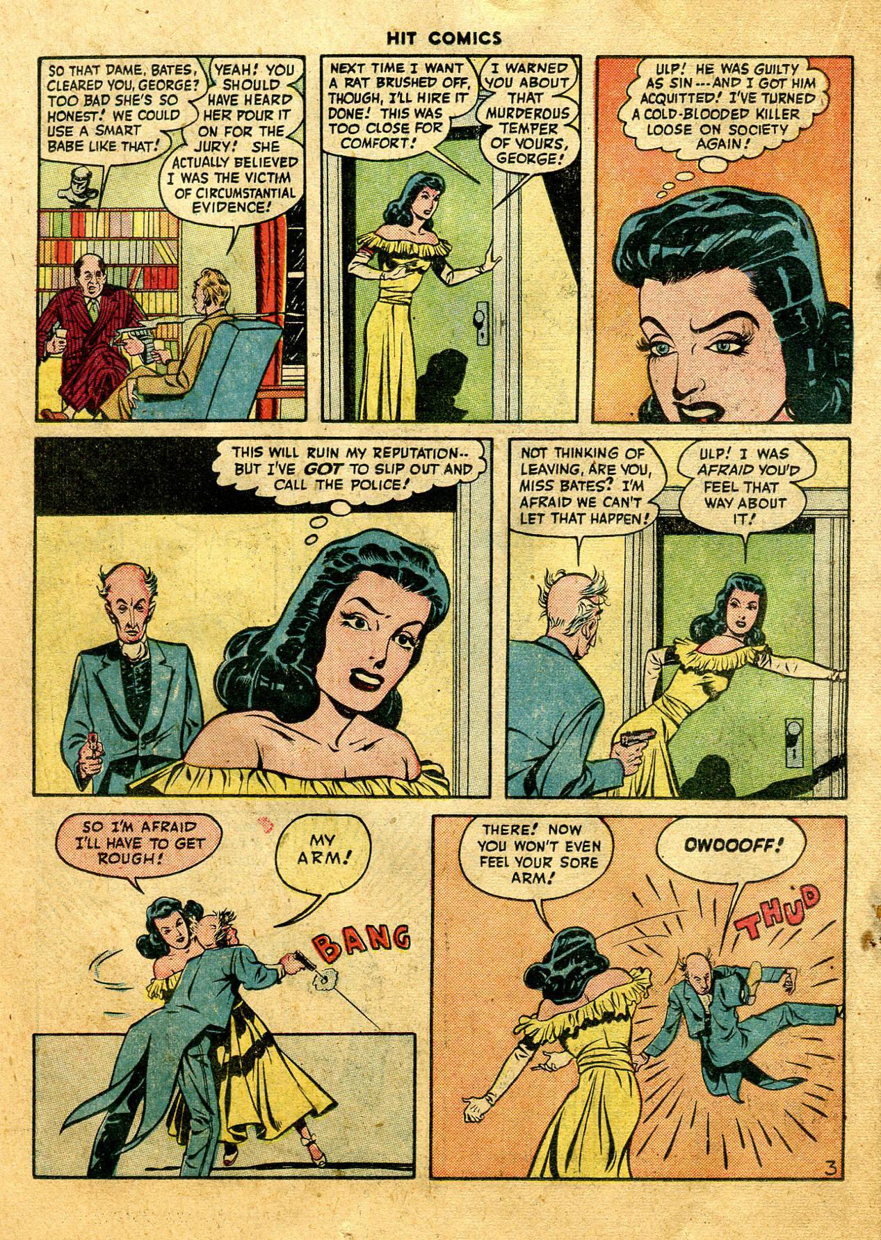 Read online Hit Comics comic -  Issue #44 - 32