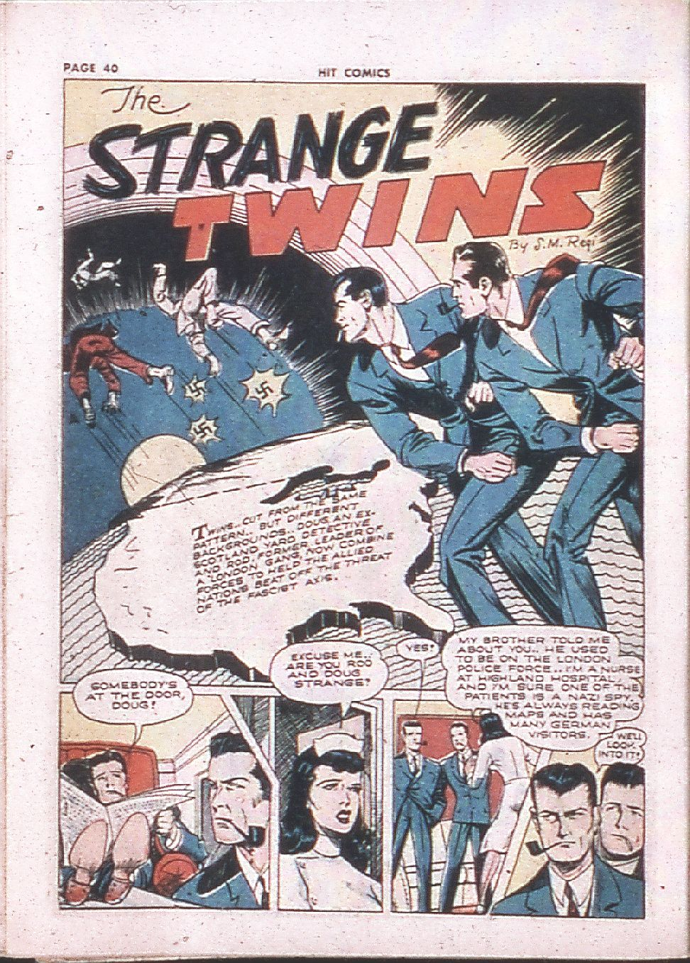 Read online Hit Comics comic -  Issue #24 - 42