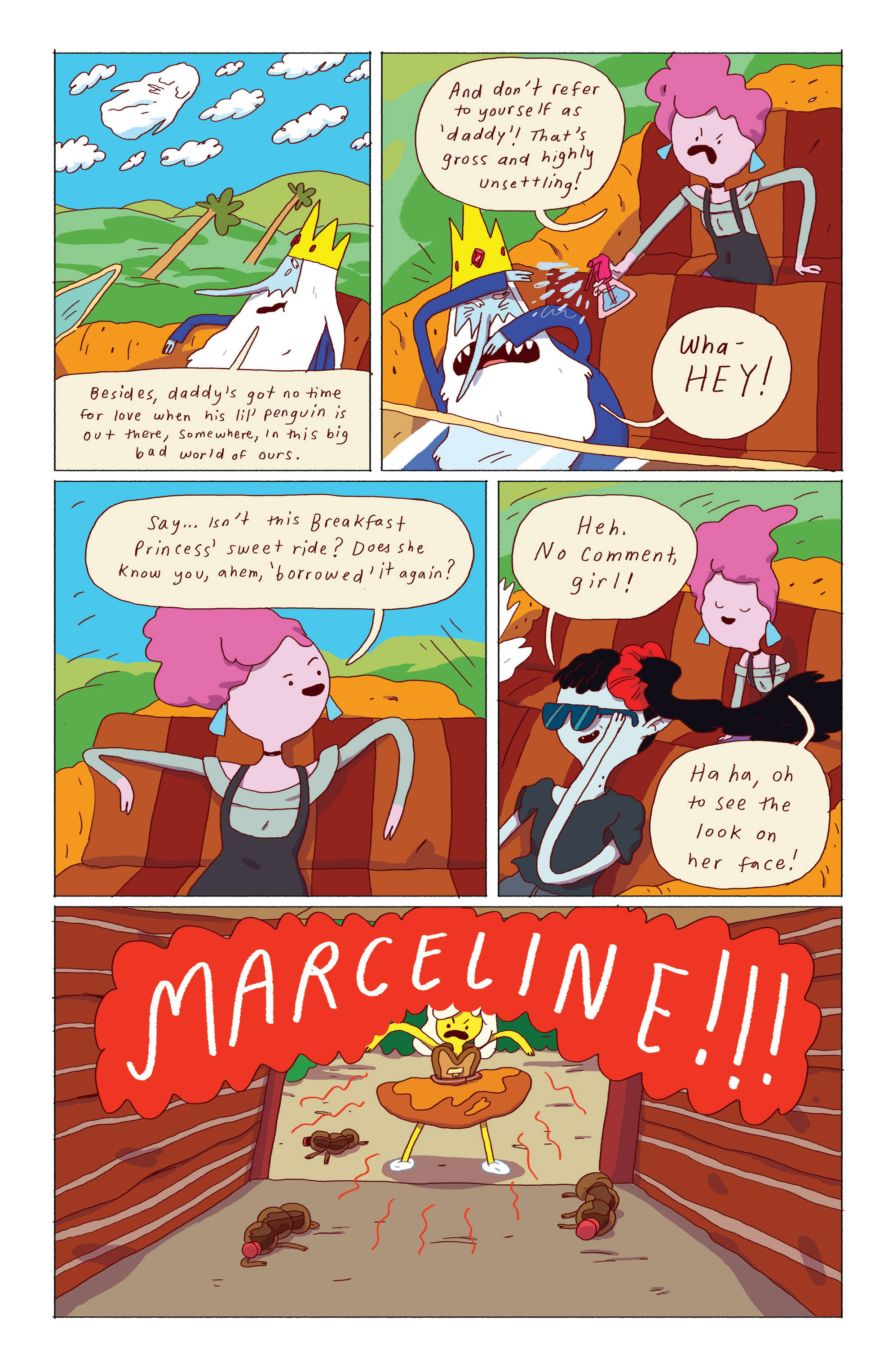Read online Adventure Time: Ice King comic -  Issue #2 - 12