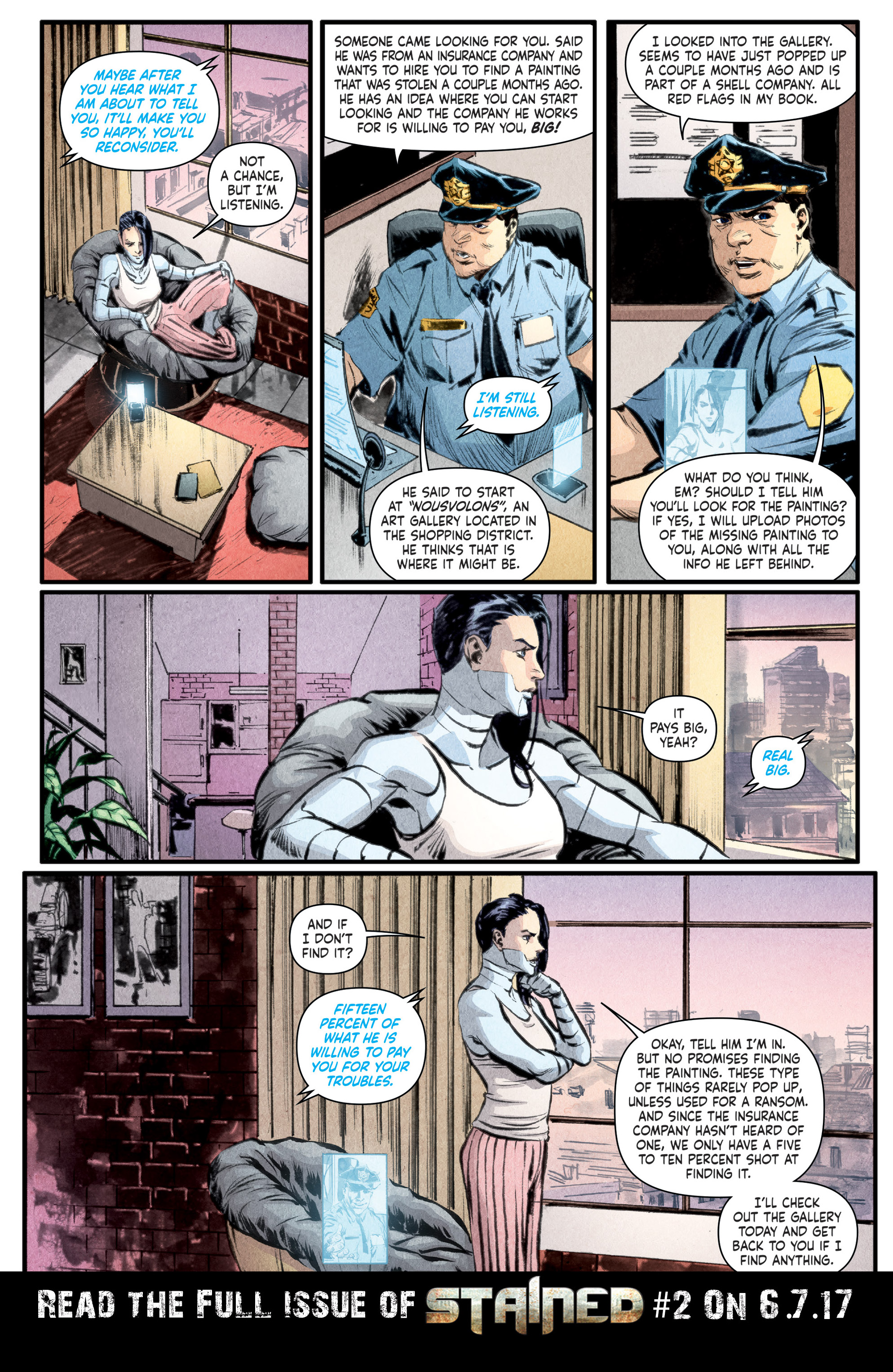 Read online Stained comic -  Issue #1 - 28