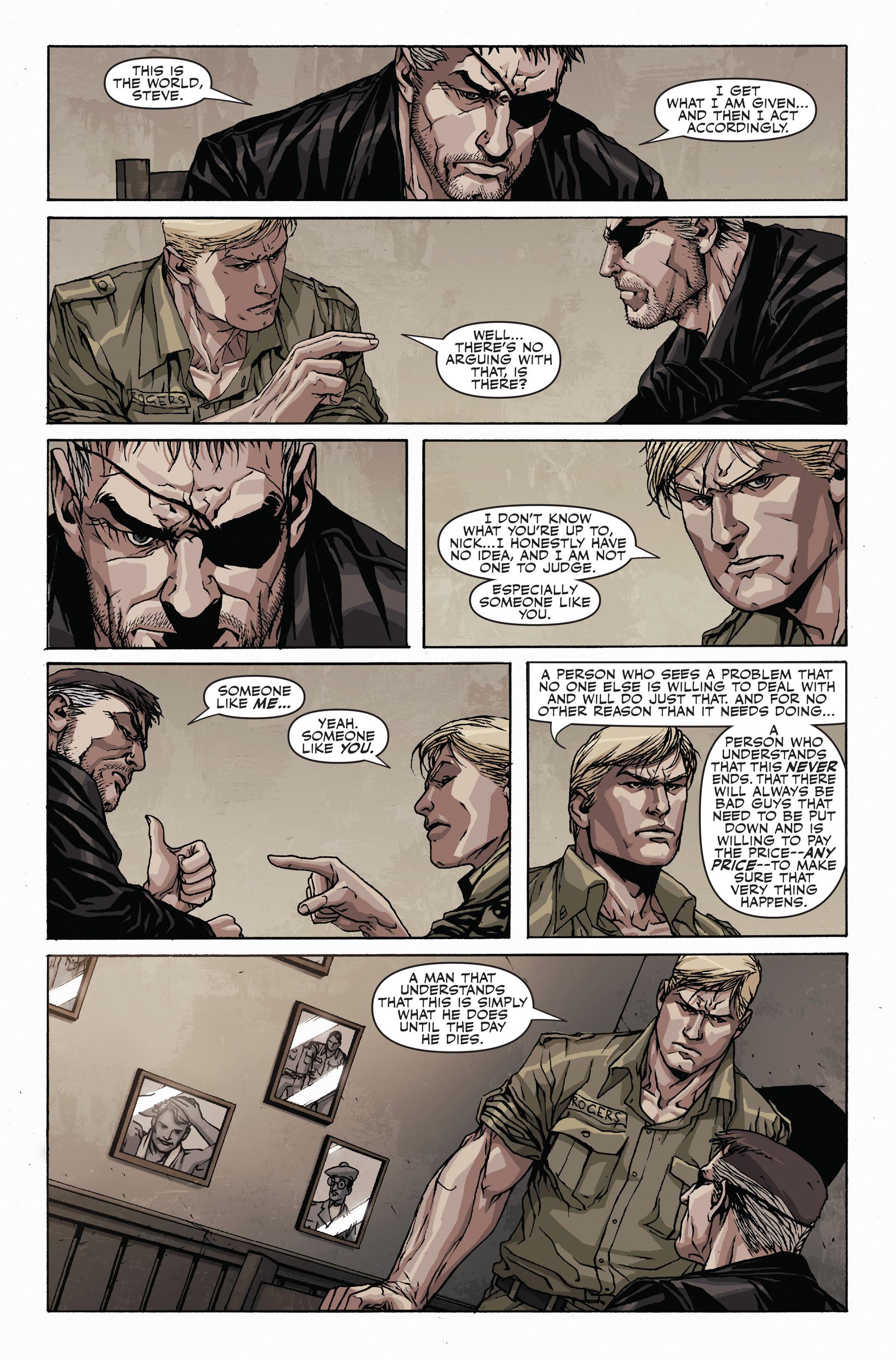 Read online Secret Warriors comic -  Issue #19 - 23