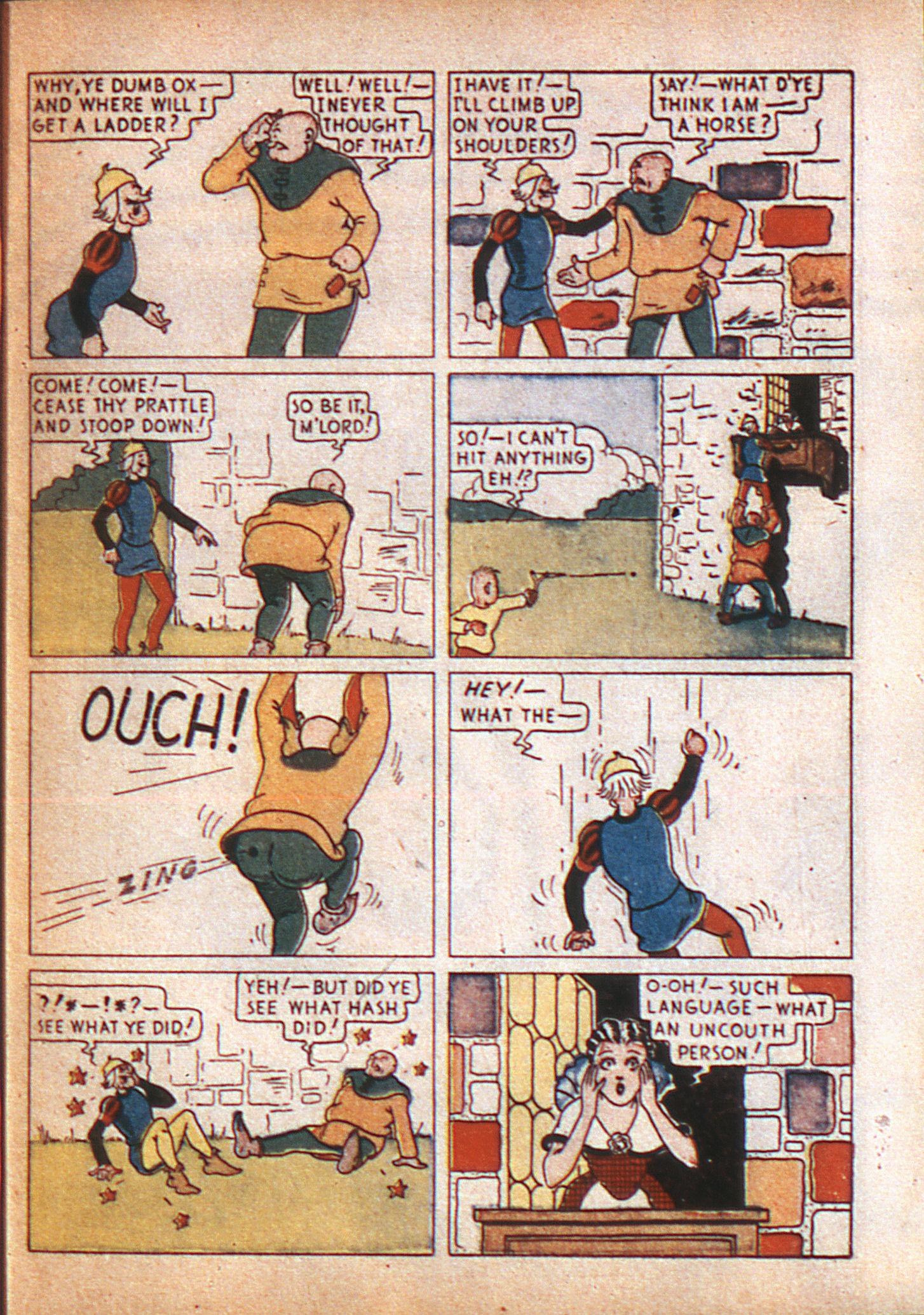 Read online Adventure Comics (1938) comic -  Issue #8 - 8