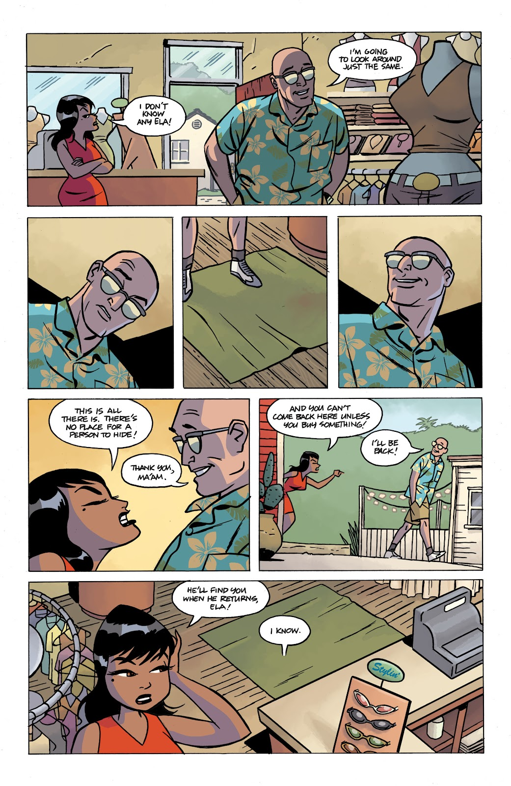 Read online The Twilight Children comic -  Issue #4 - 9