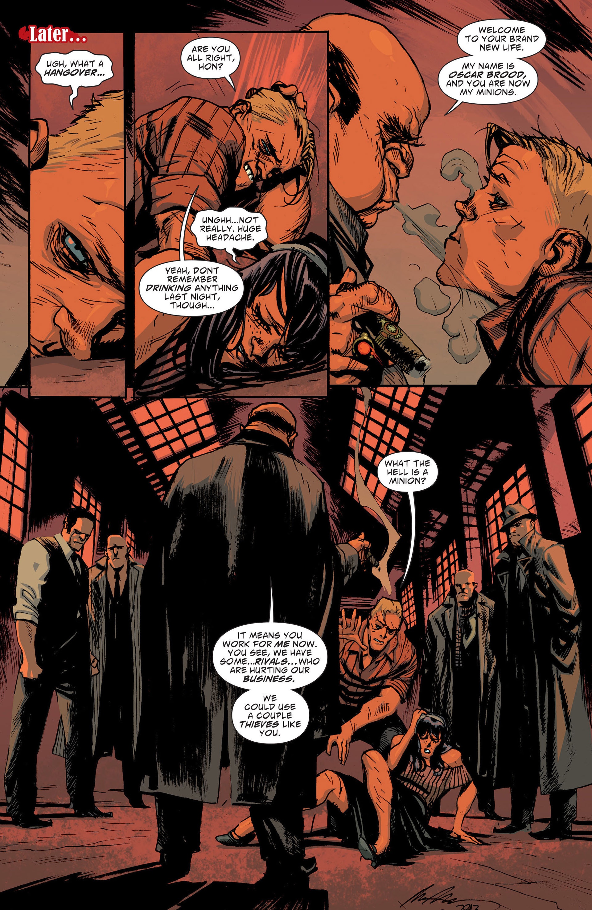 Read online American Vampire: The Long Road To Hell comic -  Issue # Full - 8