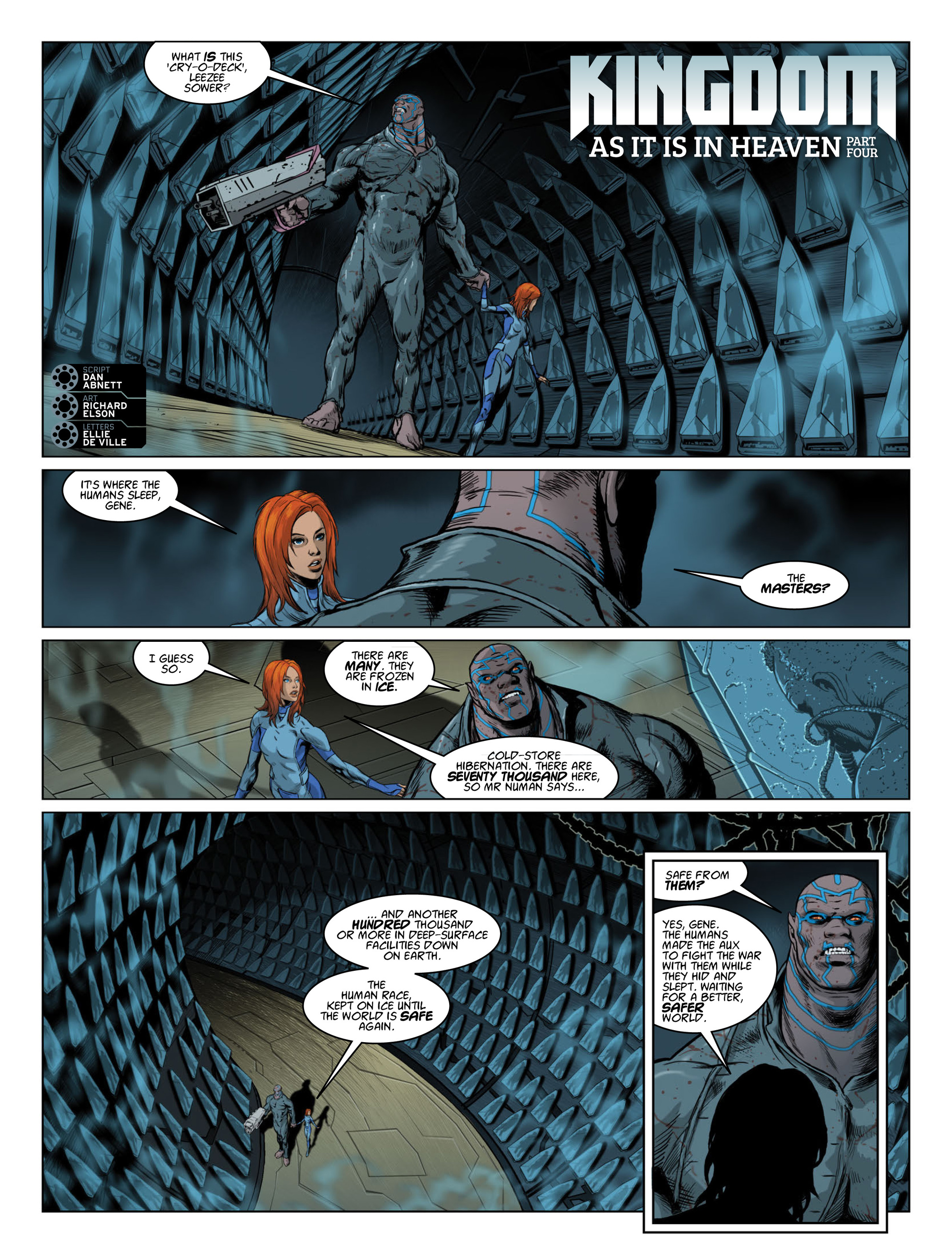 Read online 2000 AD comic -  Issue #2014 - 26